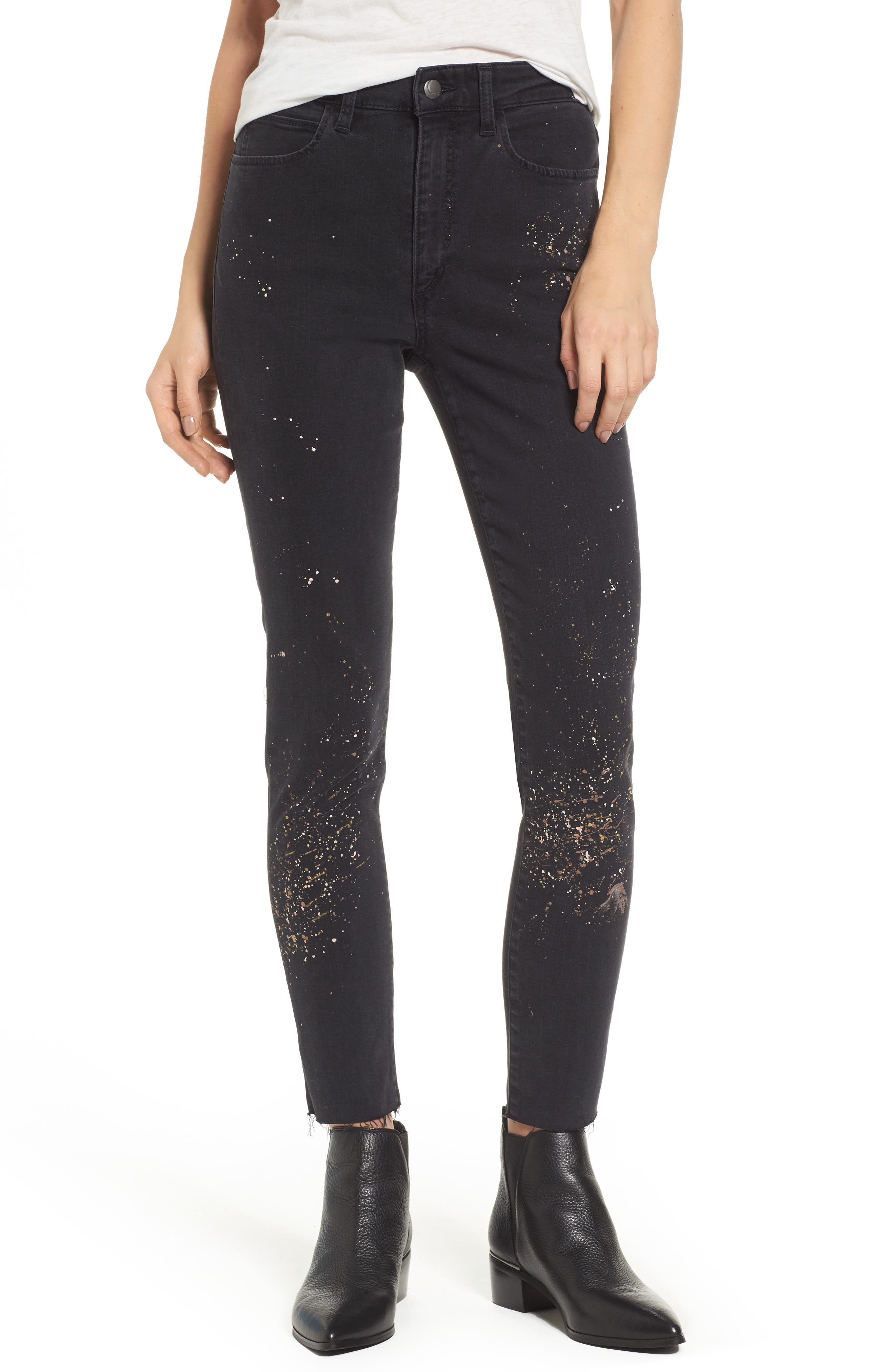 Charlie Ankle Jeans,                         Main,                         color, Ulla