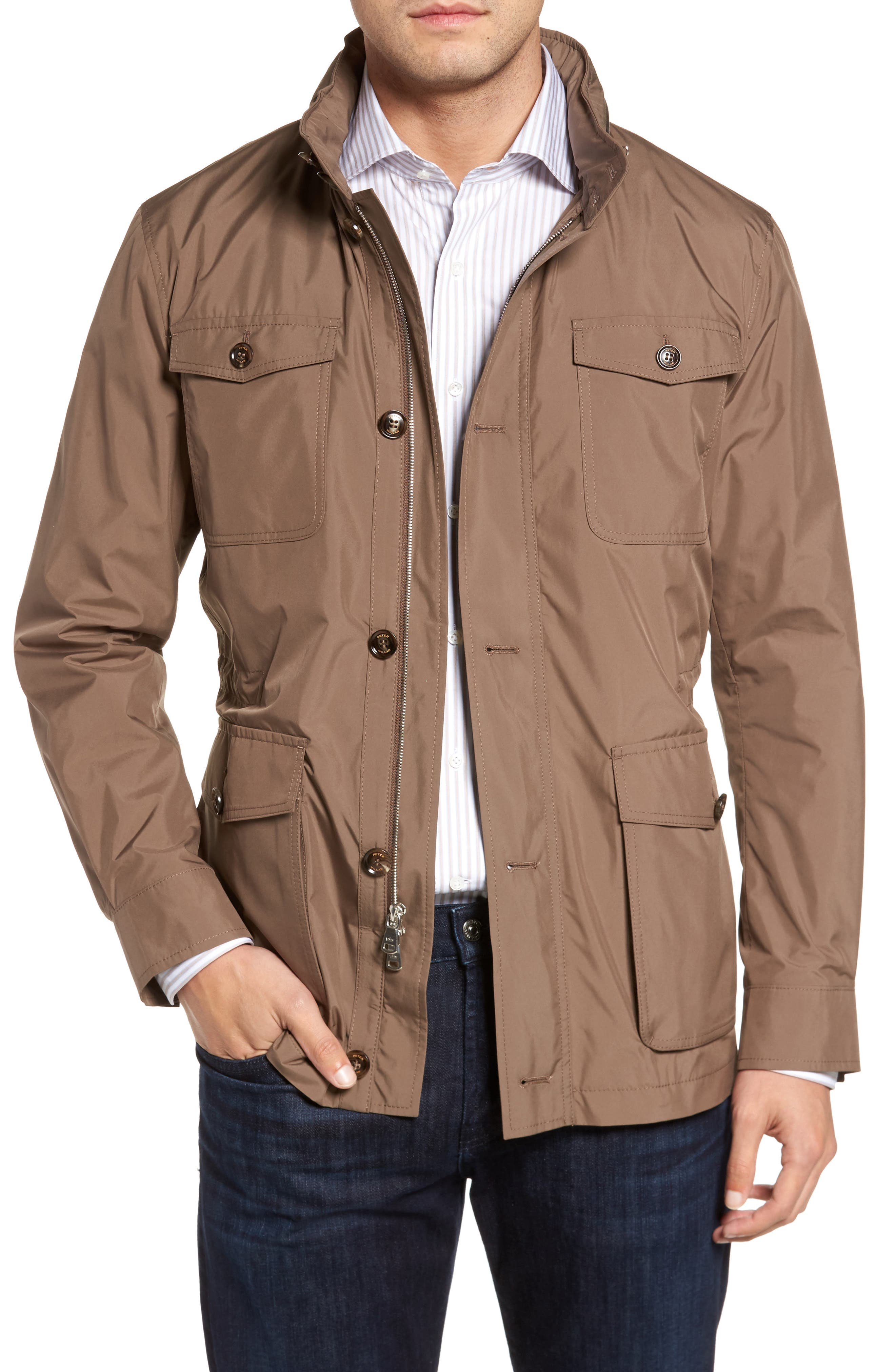 All Weather Discovery Jacket,                         Main,                         color, Dune Surf