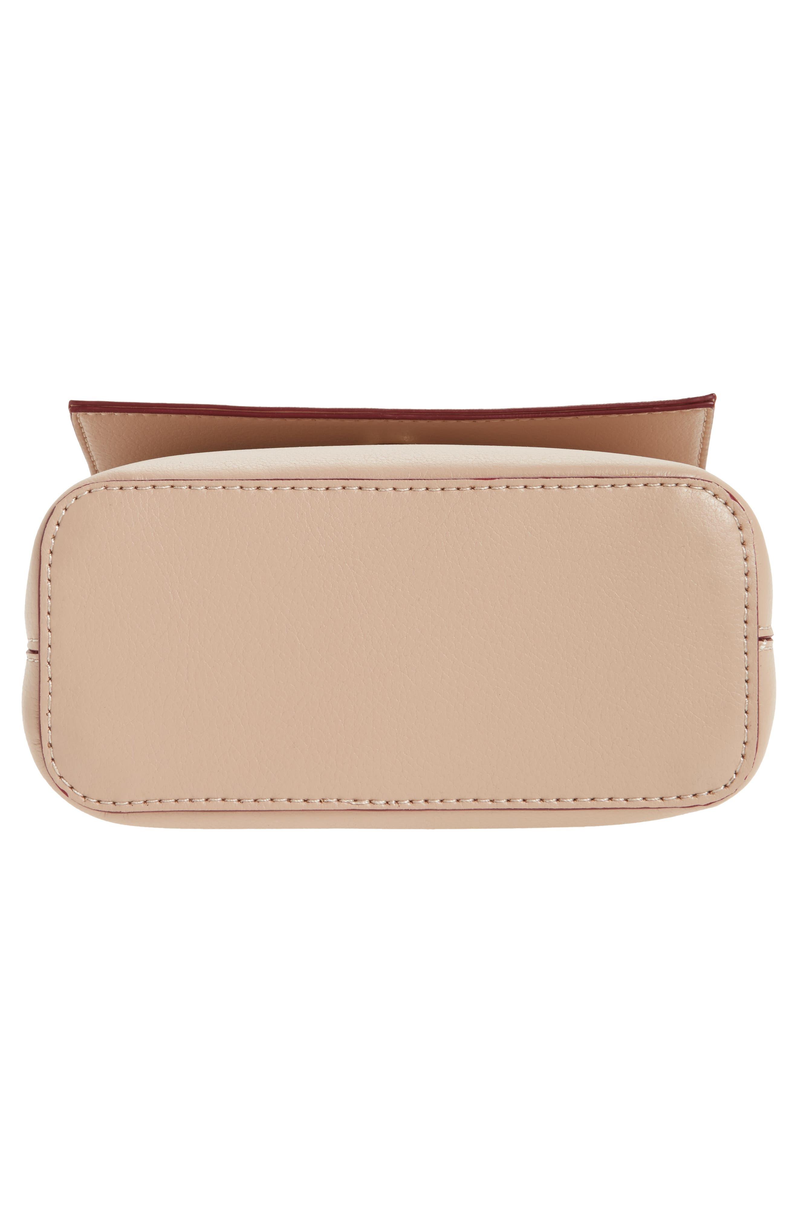 Mini Chino Crossbody Bag,                             Alternate thumbnail 6, color,                             Blush