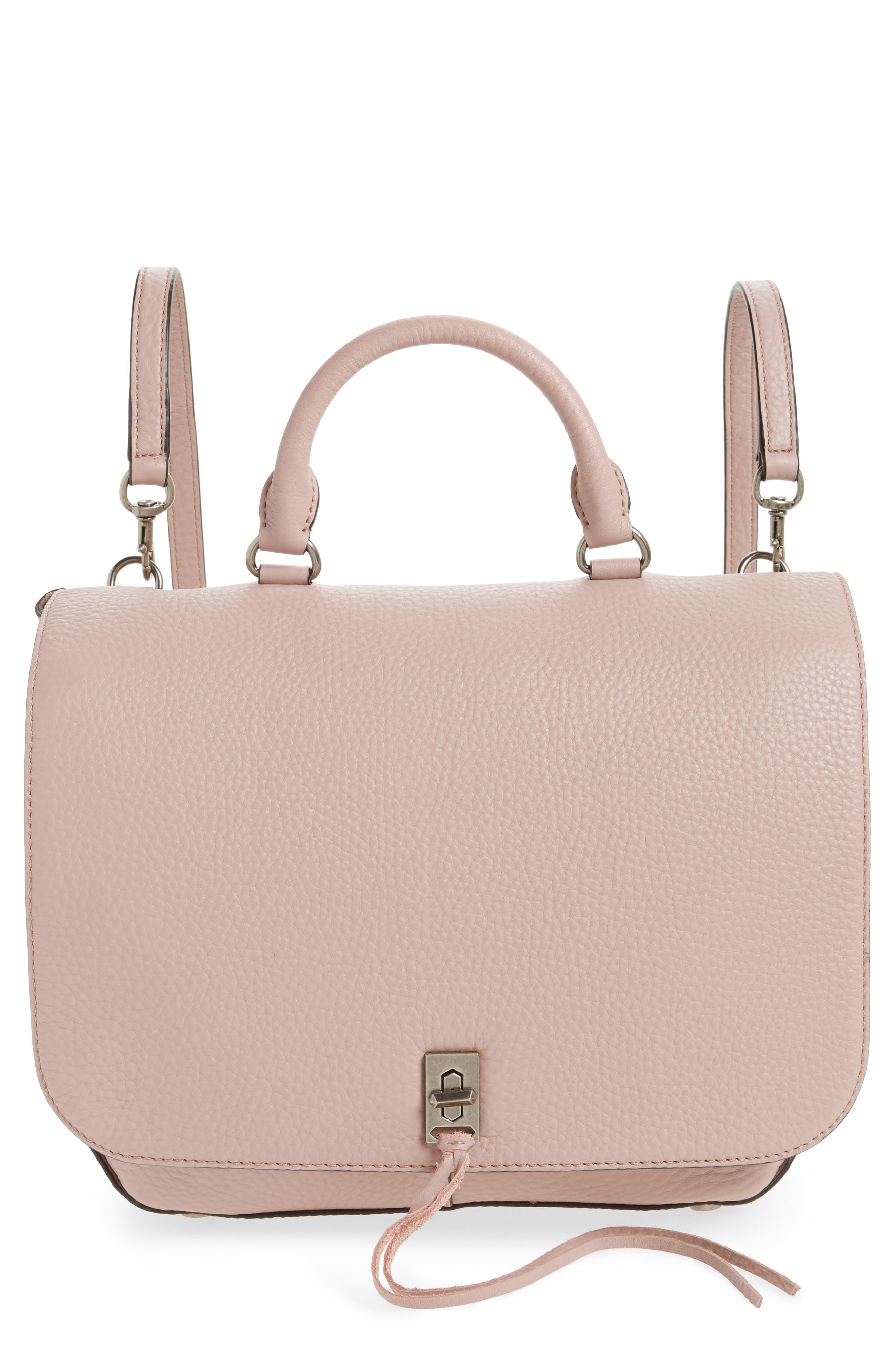 Alternate Image 1 Selected - Rebecca Minkoff Darren Convertible Leather Backpack