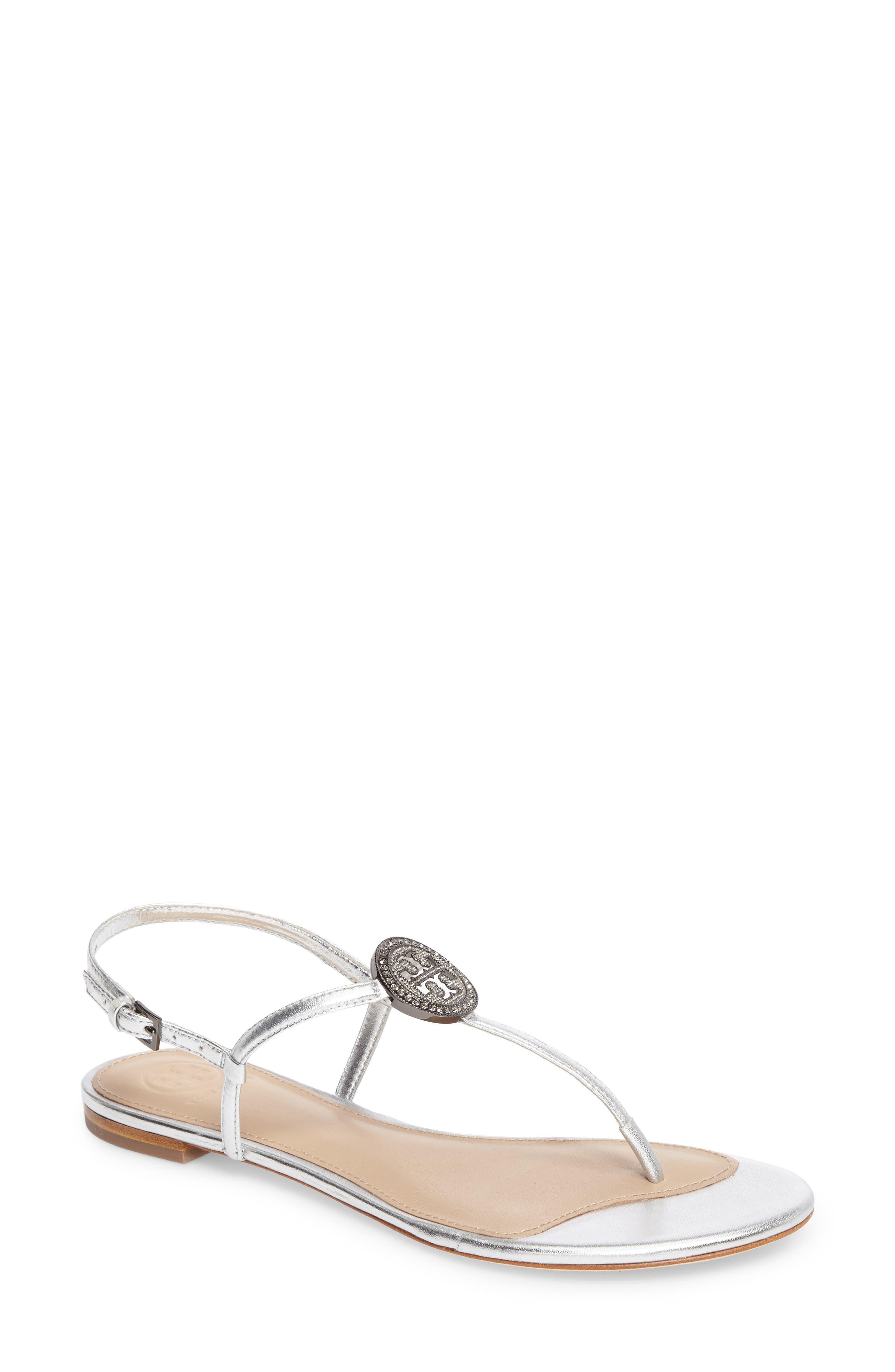 Liana Sandal,                         Main,                         color, Silver