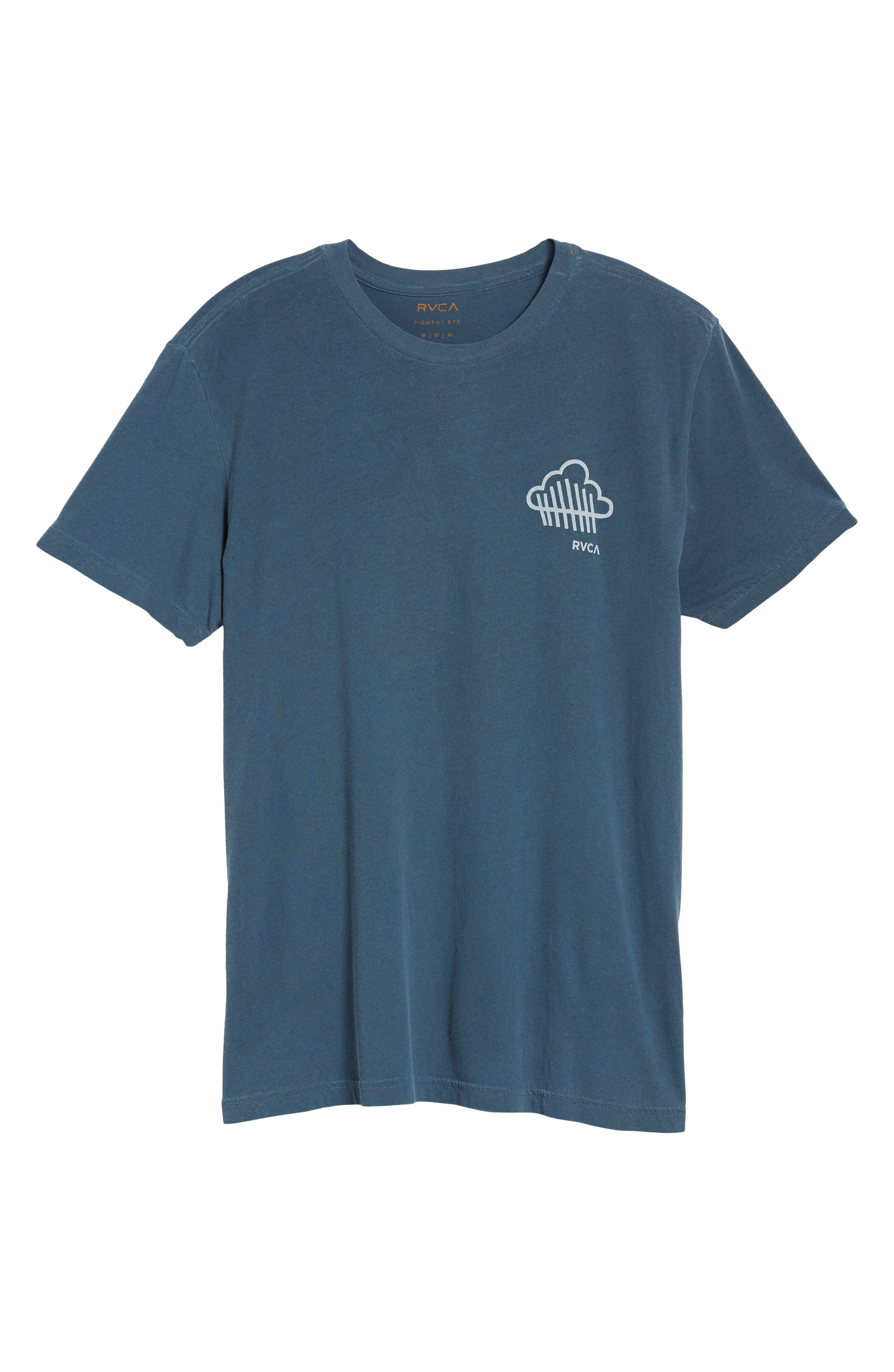 Never Not Having Fun Graphic T-Shirt,                             Alternate thumbnail 6, color,                             Dark Denim