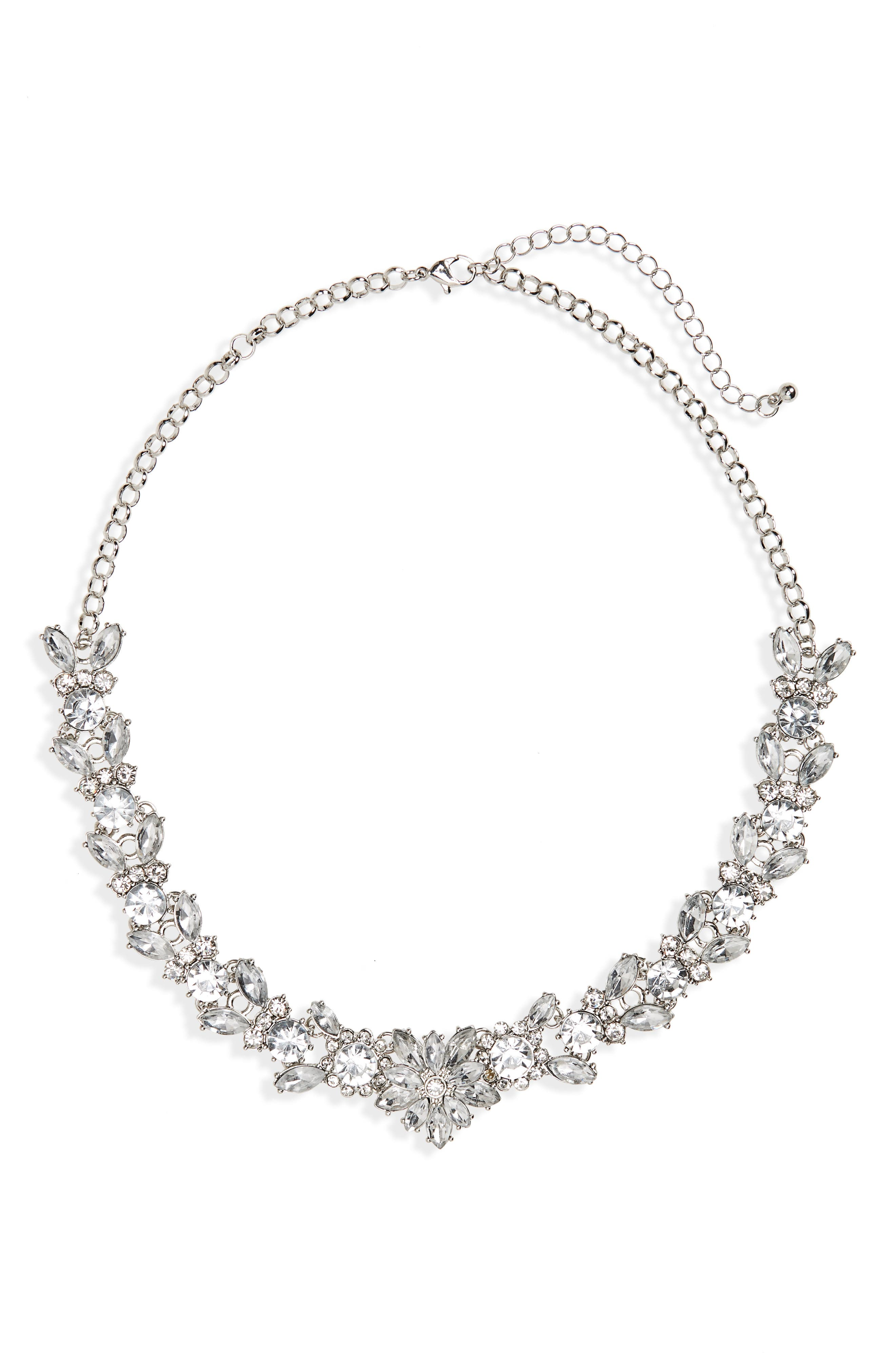 BP. Crystal Wreath Necklace
