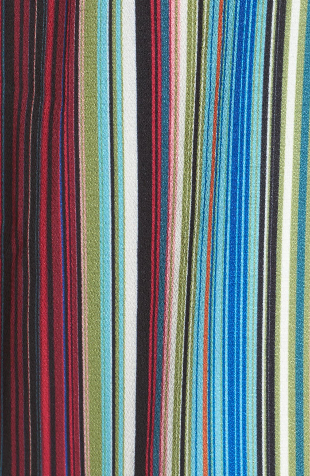 Alternate Image 5  - Charles Henry Wrap Minidress (Regular & Petite)