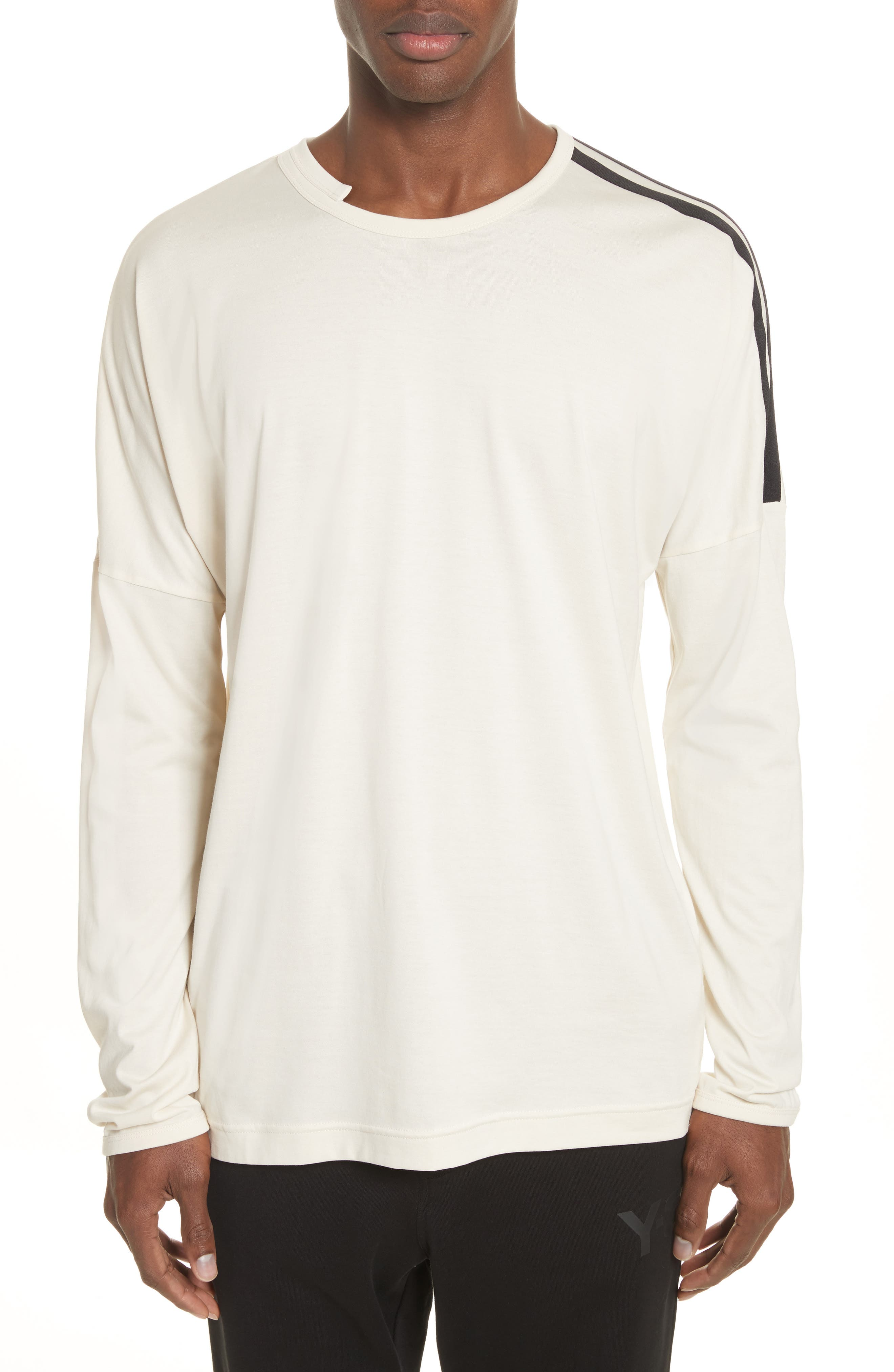 Alternate Image 1 Selected - Y-3 x adidas Long Sleeve Crewneck T-Shirt