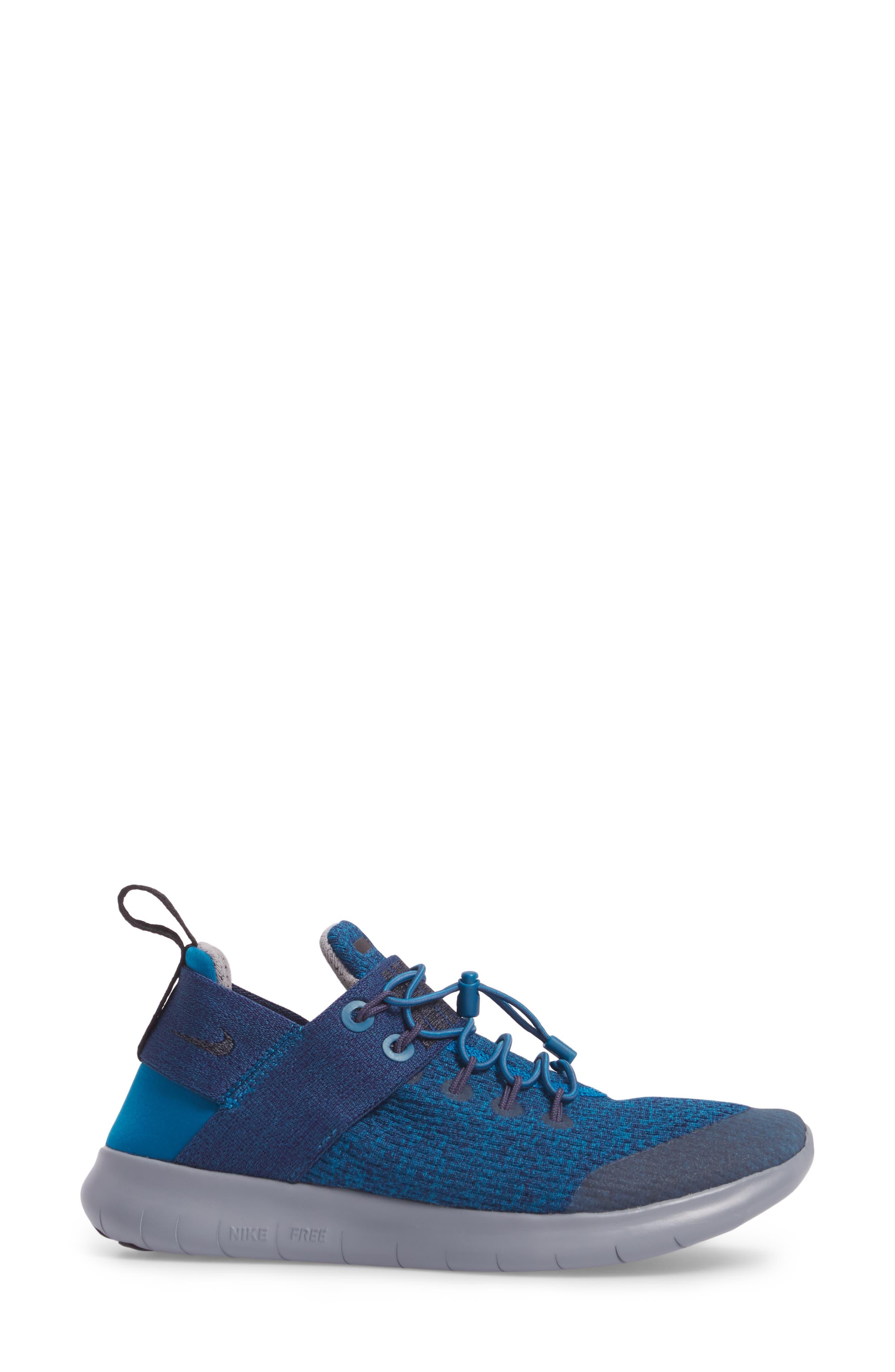 Free RN Commuter 2017 Premium Running Shoe,                             Alternate thumbnail 3, color,                             Green / Black/ Cobblestone
