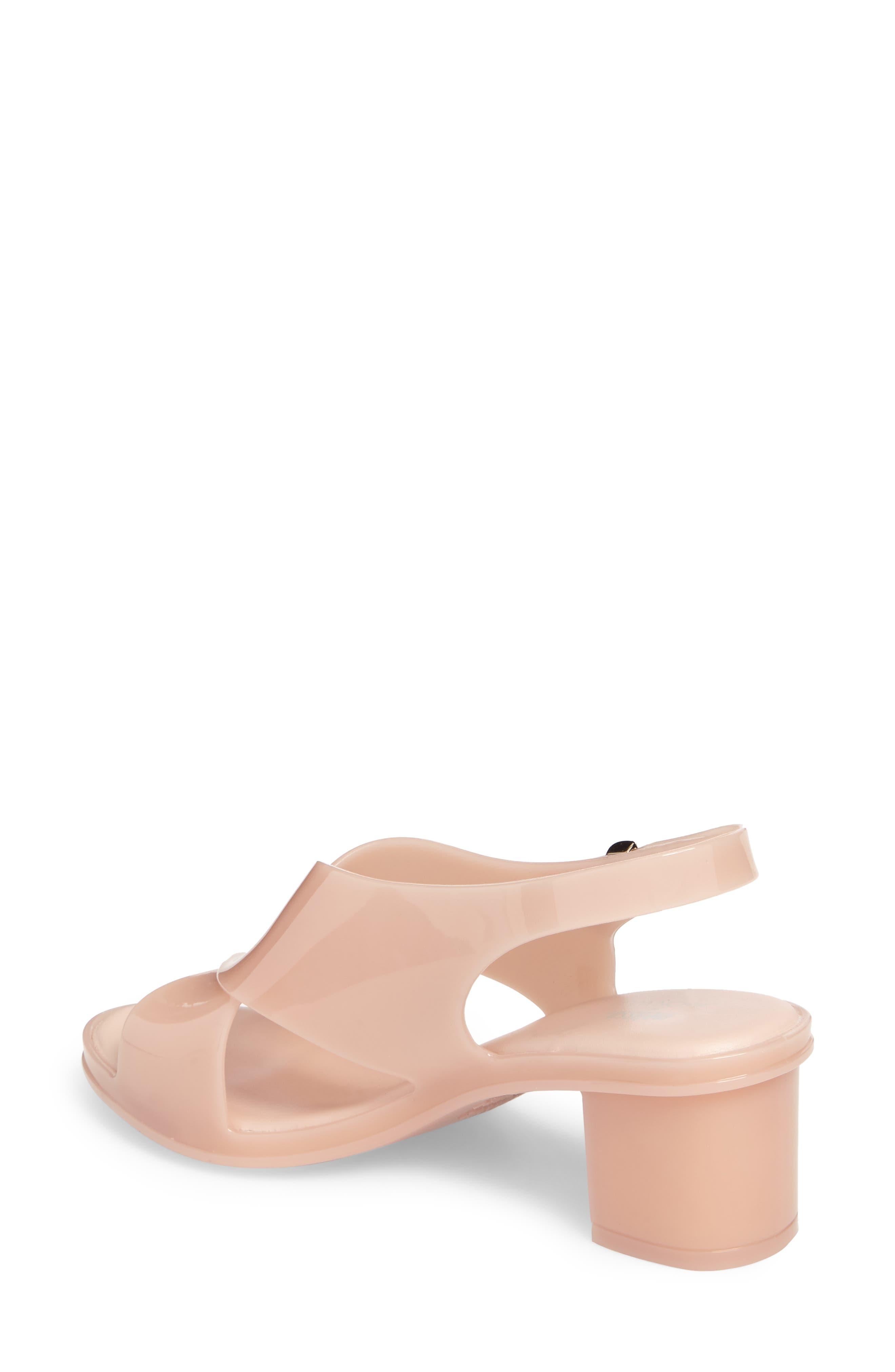 x Jason Wu Jamie Cross Strap Slingback Sandal,                             Alternate thumbnail 2, color,                             Light Pink Matte