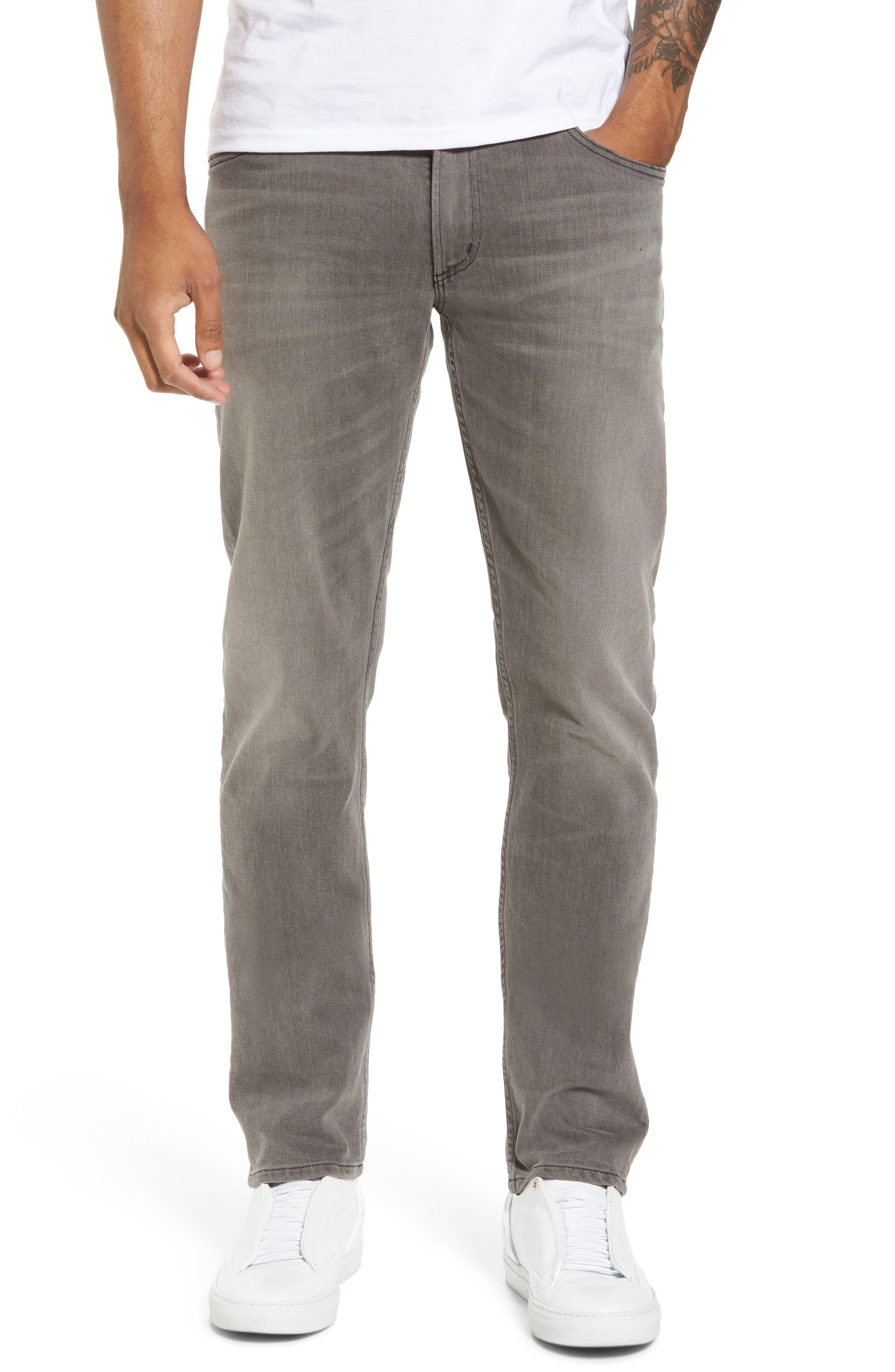 Bowery Slim Fit Jeans,                             Main thumbnail 1, color,                             Leon