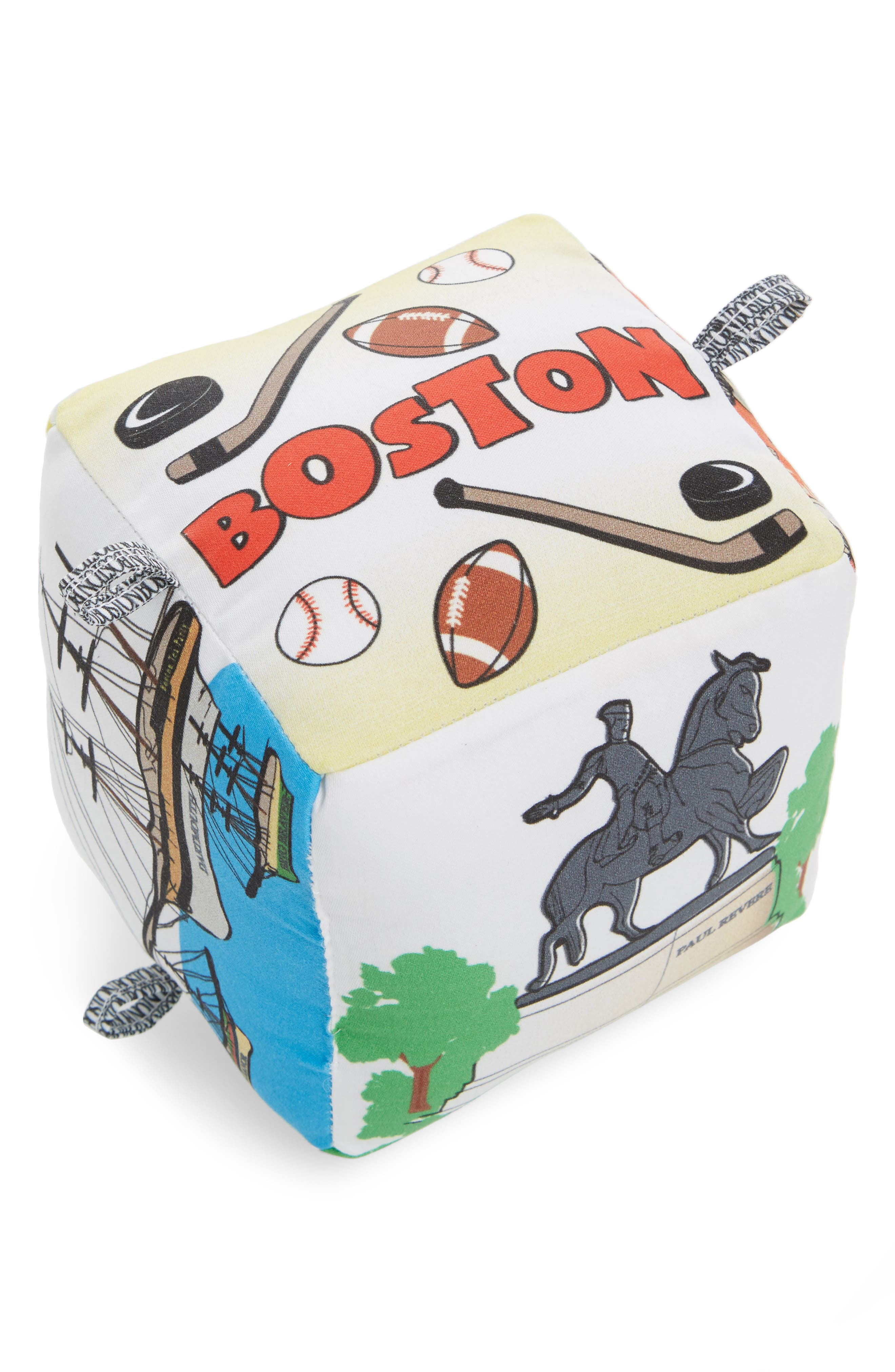 Globe Totters Boston City Block Stuffed Toy