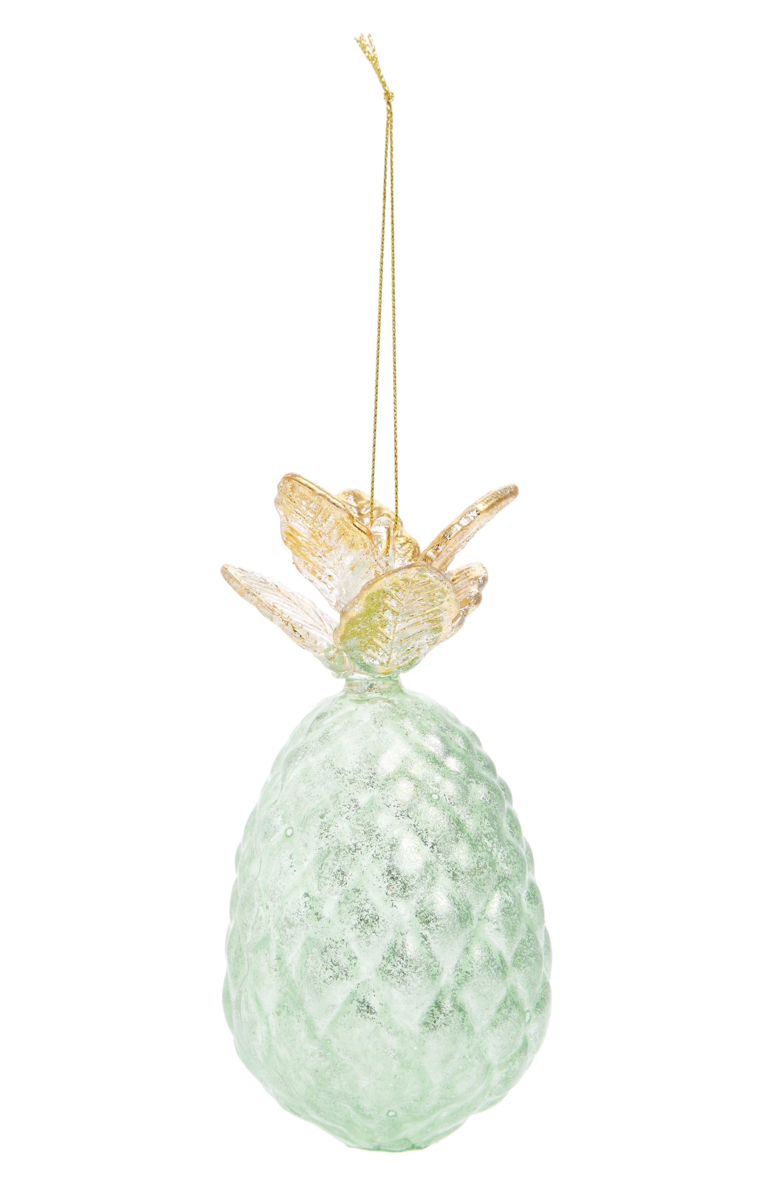 Nordstrom at Home Pineapple Glass Ornament