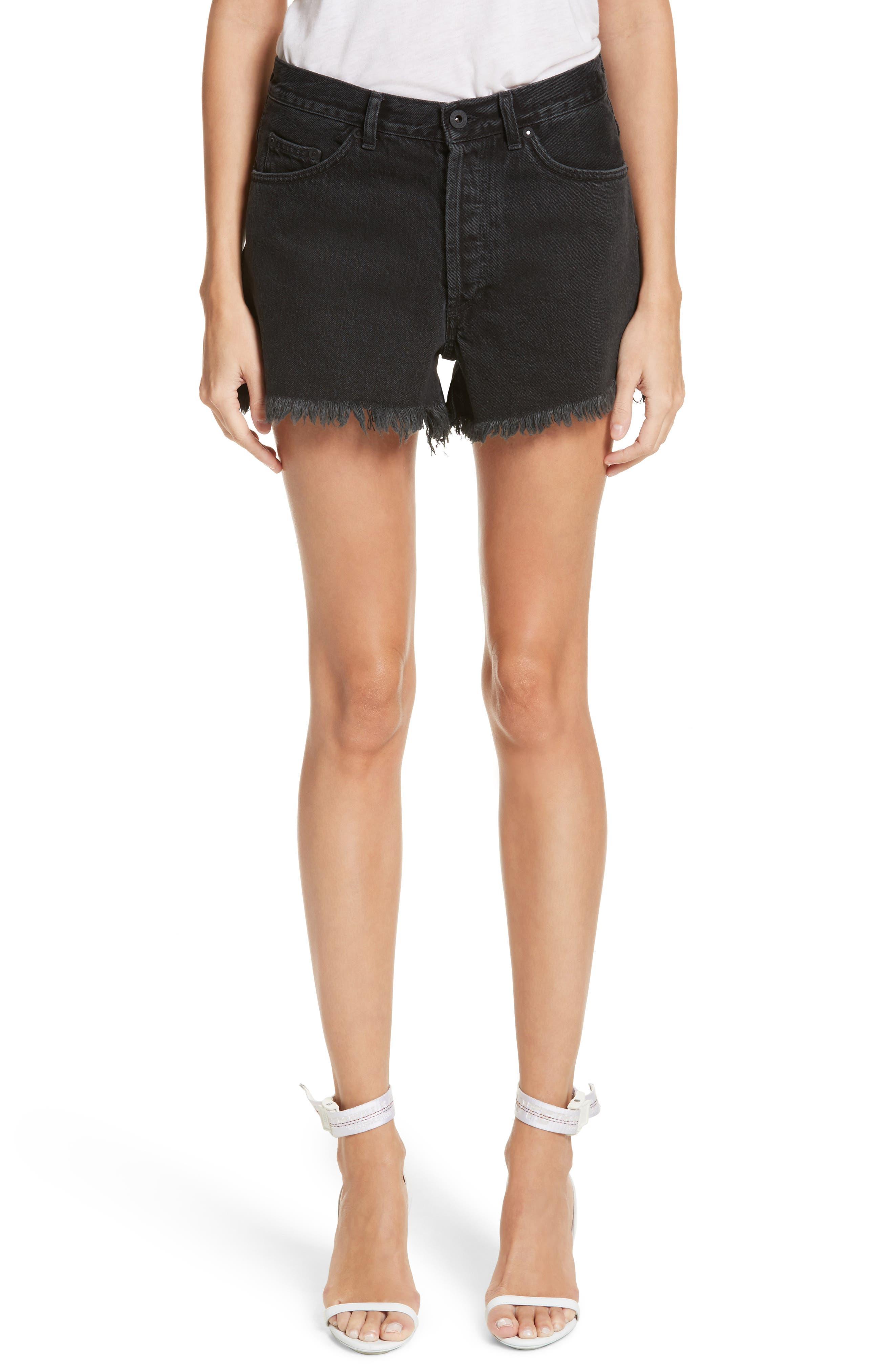 Alternate Image 1 Selected - Off White Fern 5 Pocket Shorts