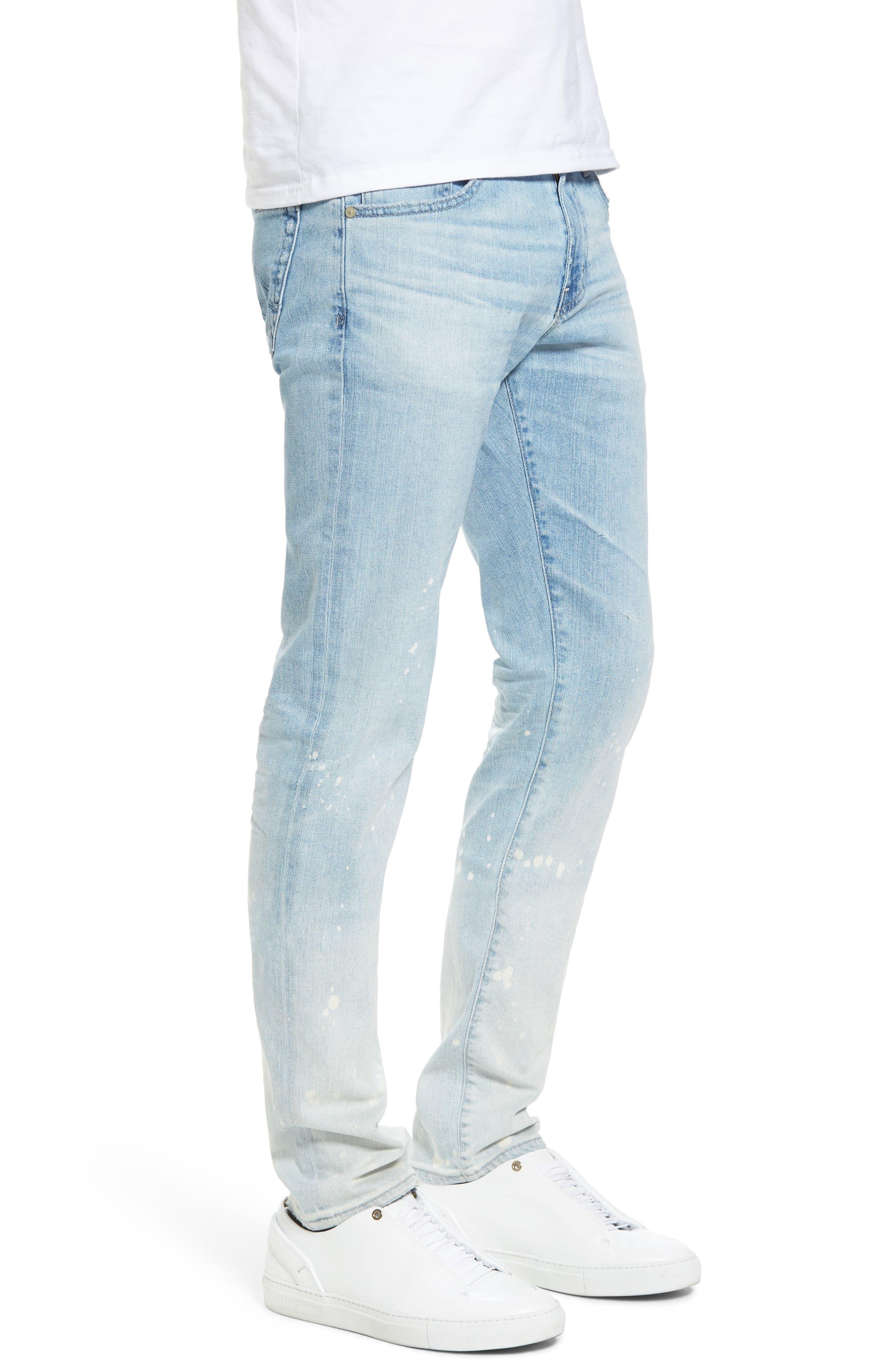 Dylan Slim Skinny Fit Jeans,                             Alternate thumbnail 3, color,                             23 Years Oceanside