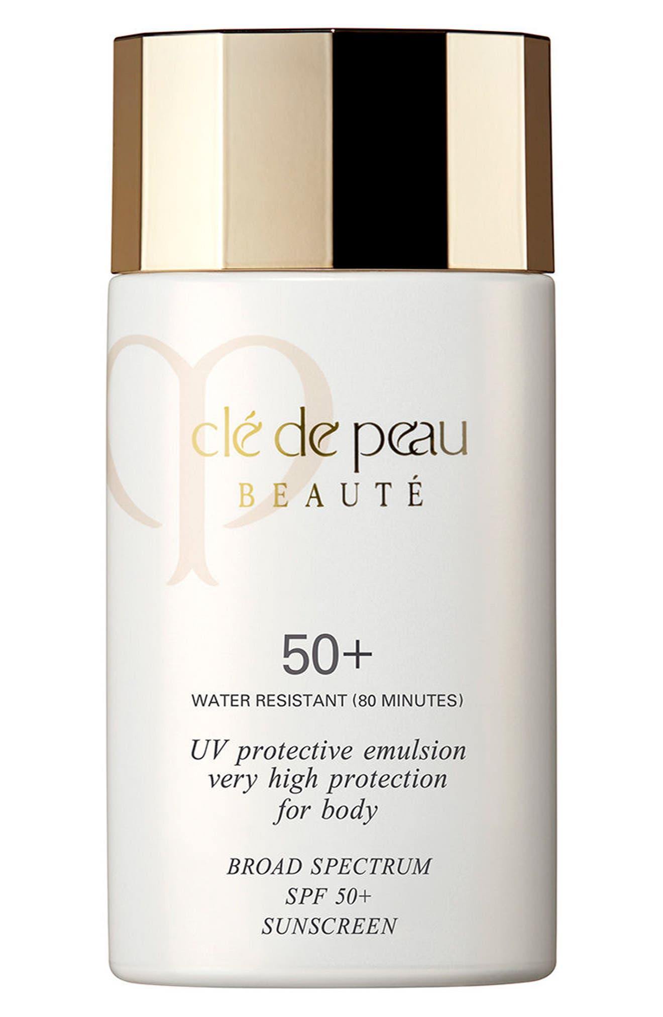 Main Image - Clé de Peau Beauté UV Protective Emulsion Very High Protection for Body Broad Spectrum SPF 50+