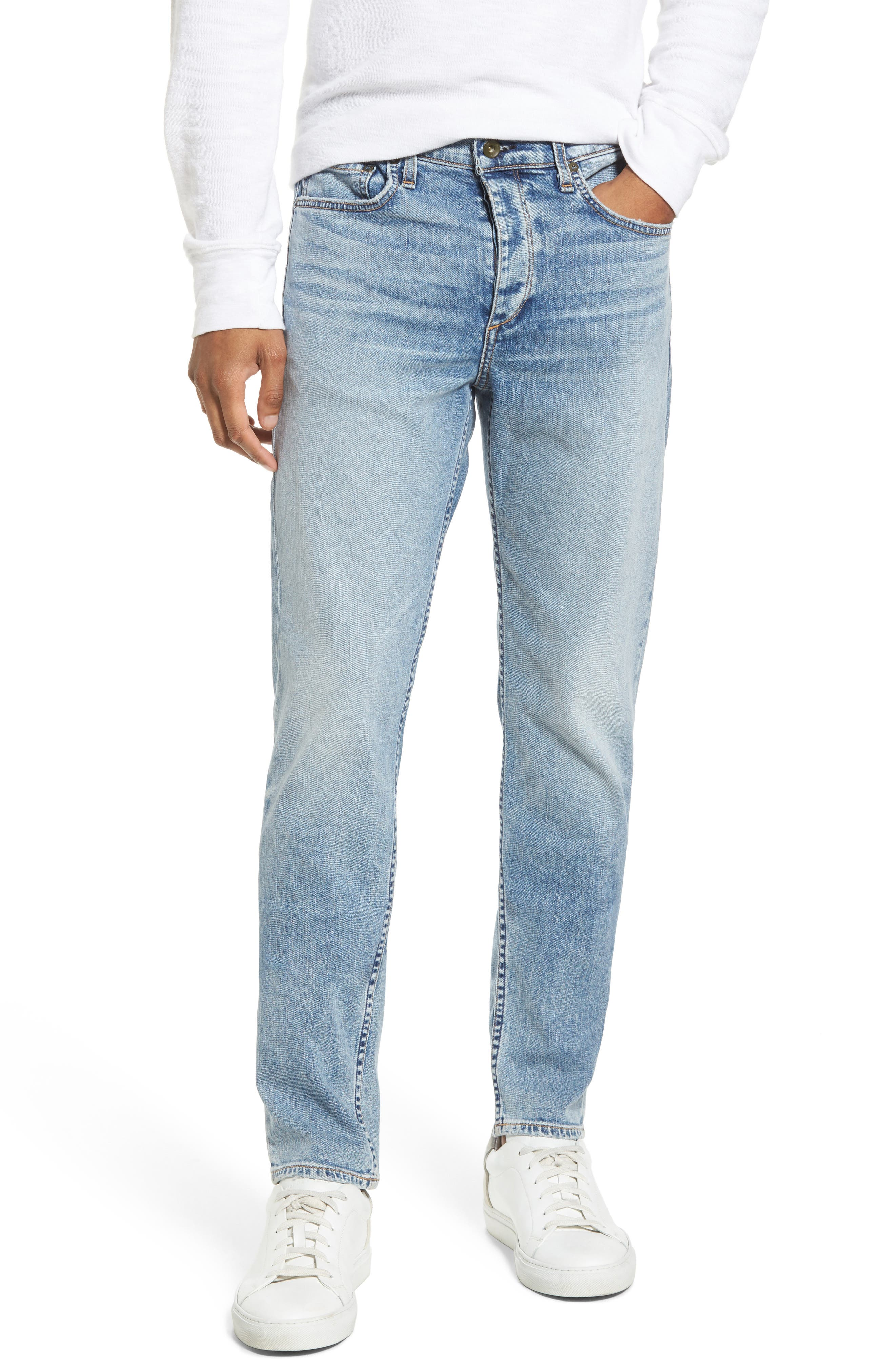 Fit 1 Skinny Fit Jeans,                         Main,                         color, Double Up