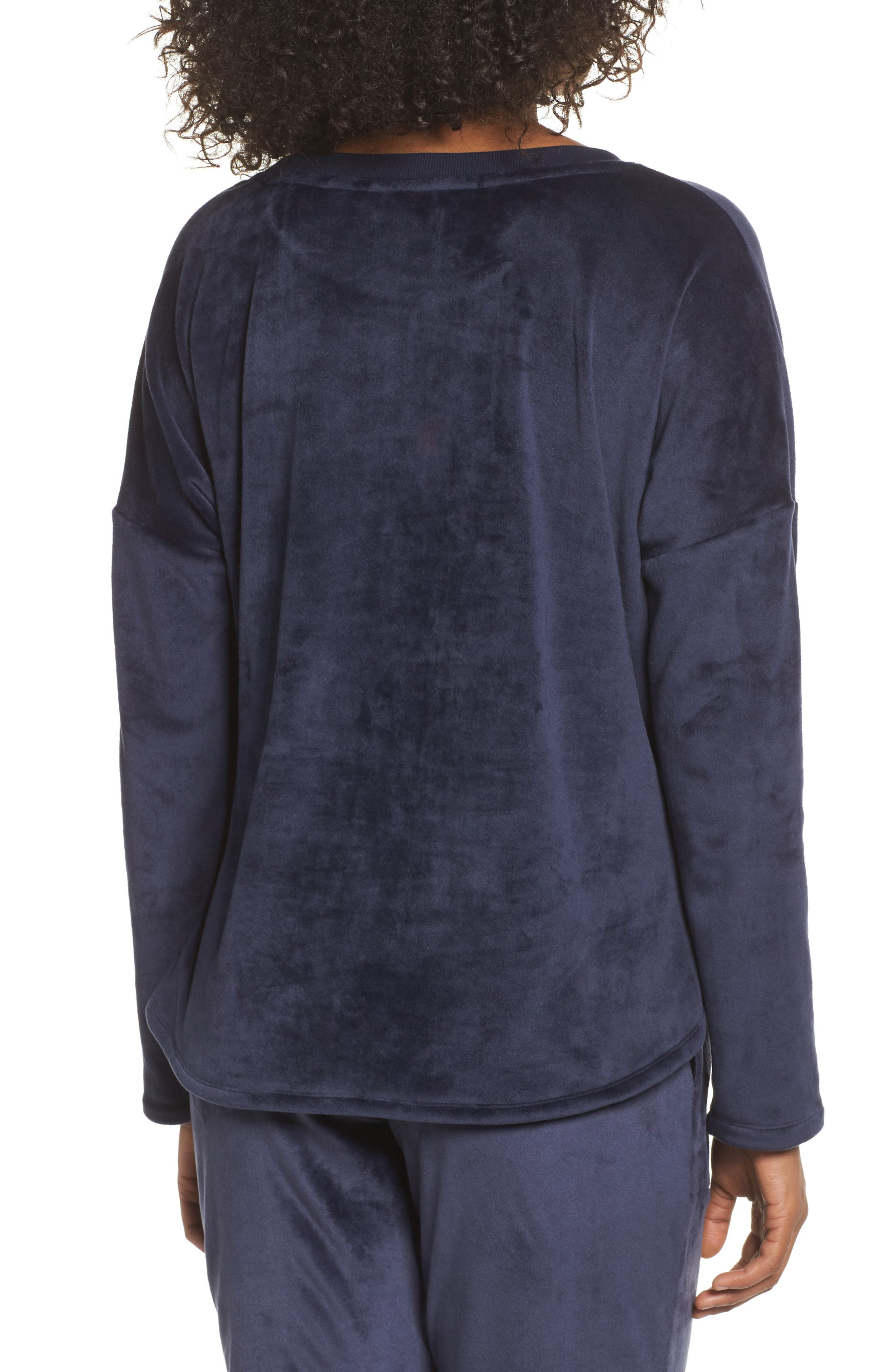 Alternate Image 2  - Room Service Luxury Plush Sweatshirt
