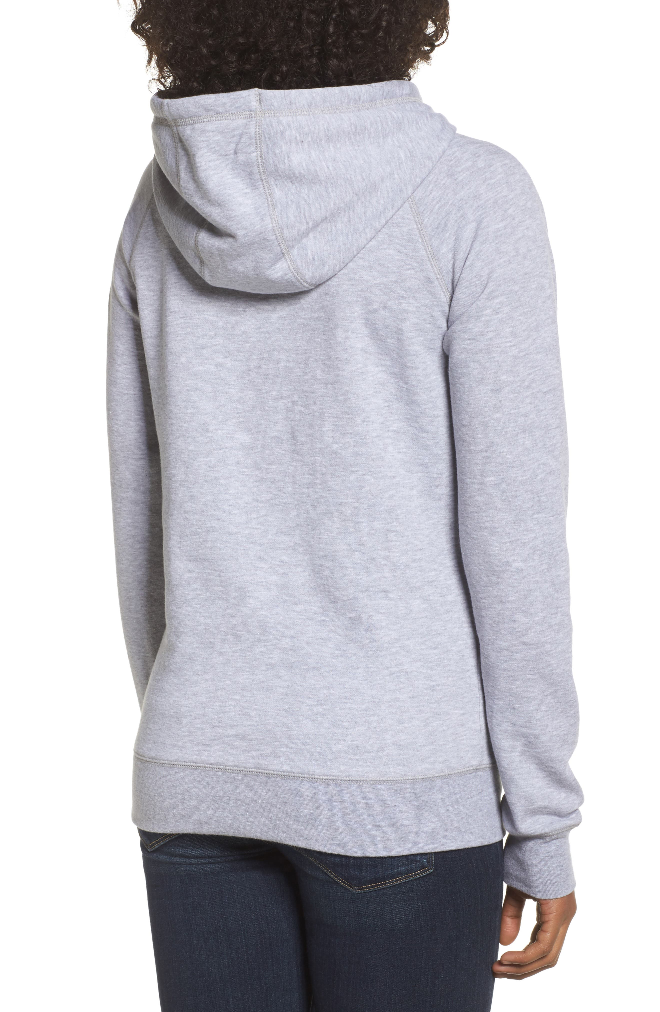 International Collection USA Pullover Hoodie,                             Alternate thumbnail 2, color,                             Tnf Light Grey Heather