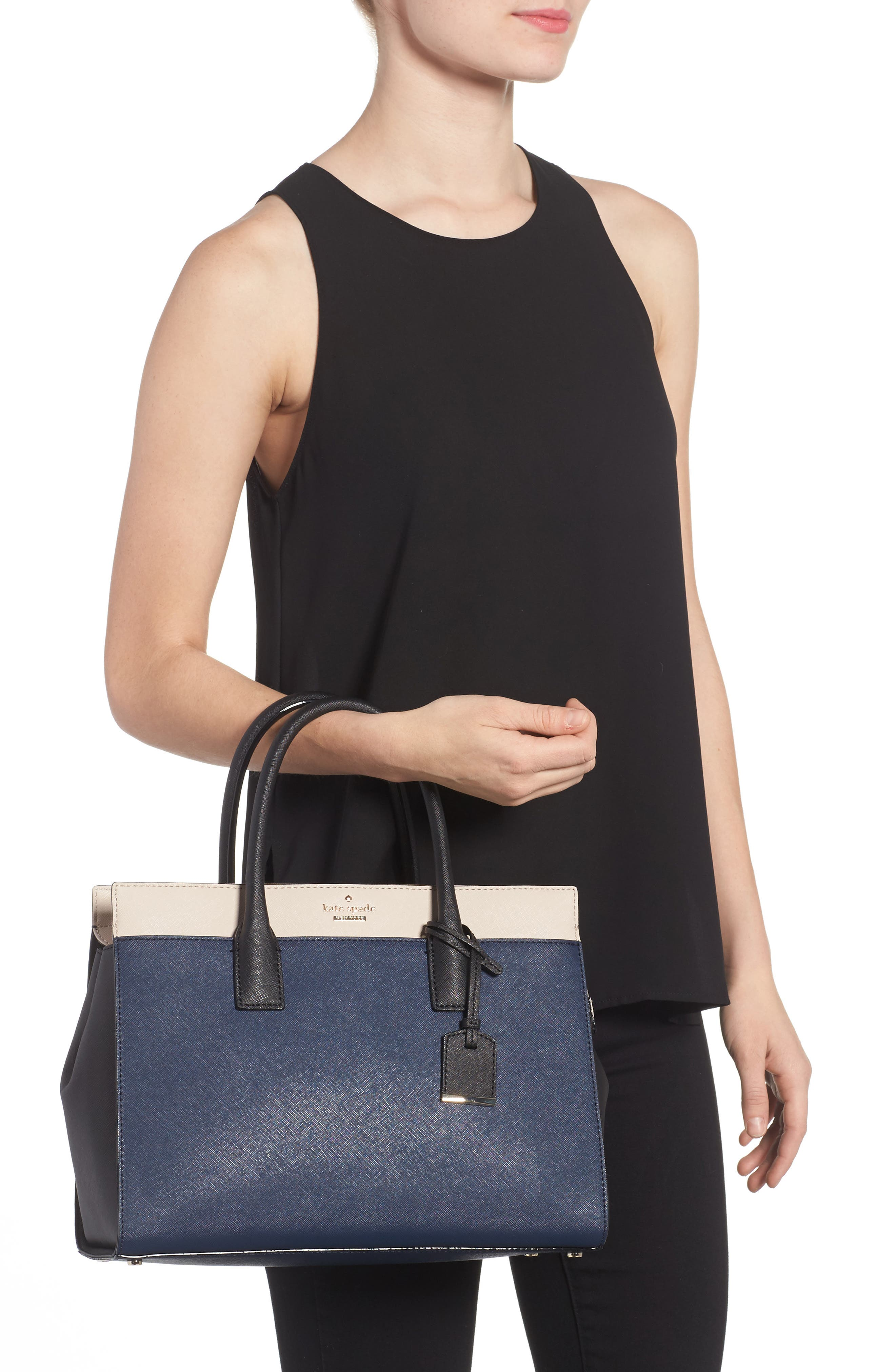 Alternate Image 2  - kate spade new york cameron street - candace leather satchel