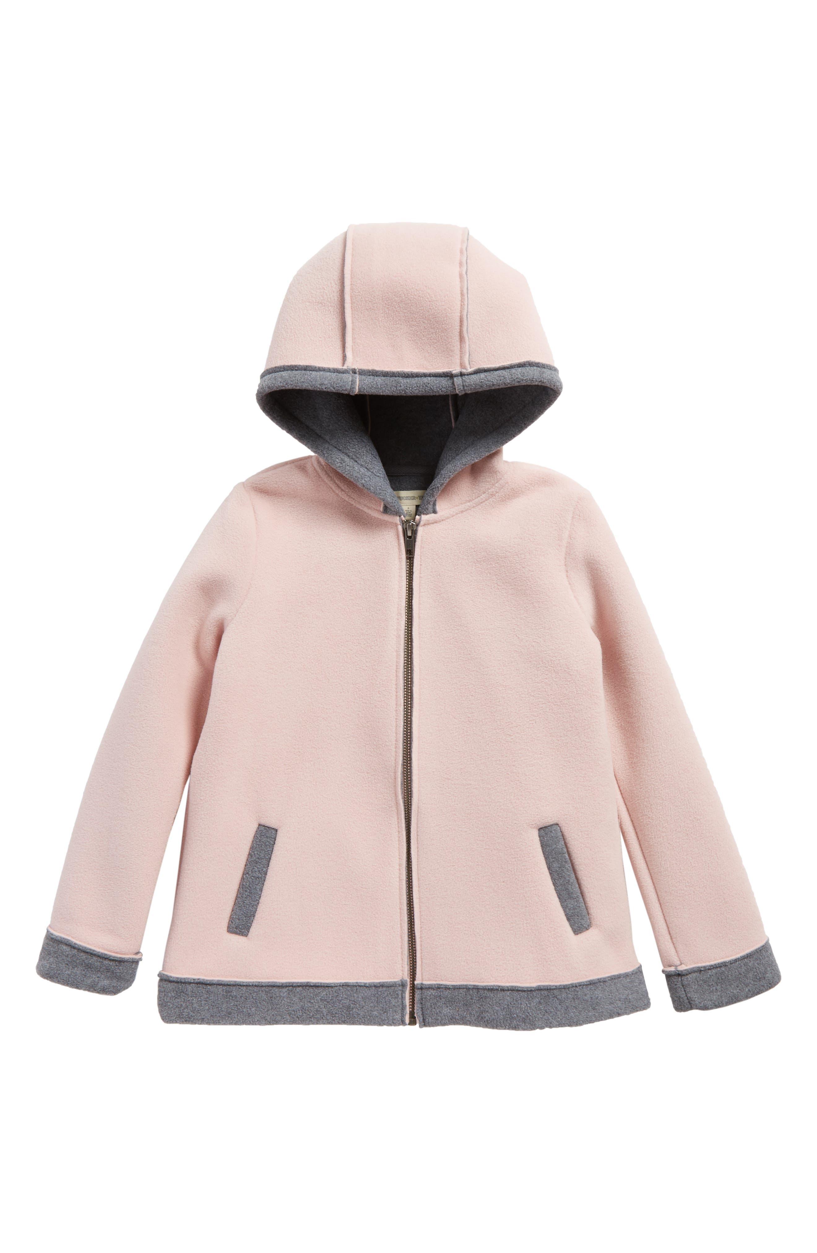 Tucker + Tate Hooded Fleece Jacket (Toddler Girls, Little Girls & Big Girls)