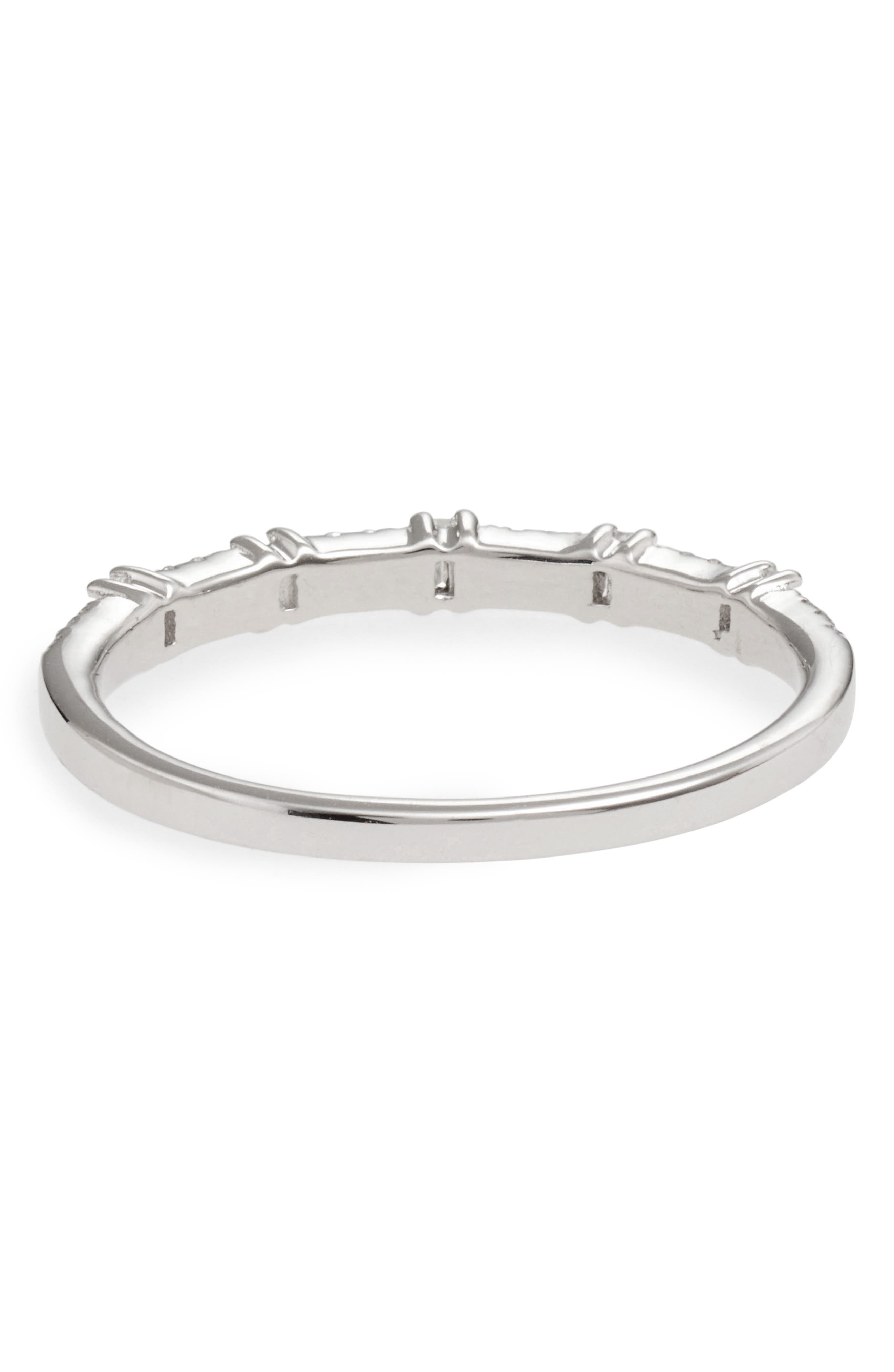 Alternate Image 4  - Bony Levy Amara Diamond Stack Ring (Nordstrom Exclusive)