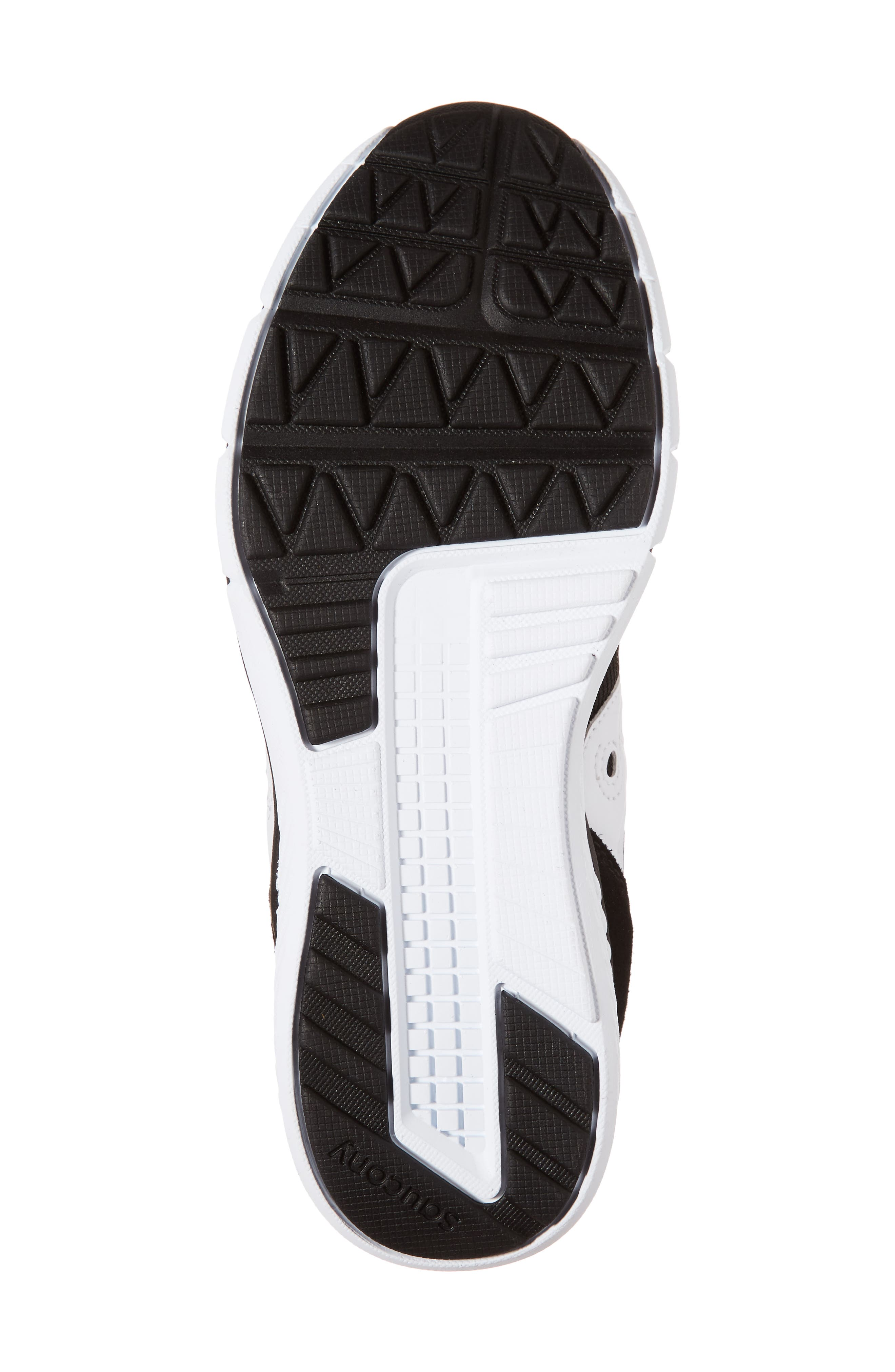 Jazz Lite Athletic Shoe,                             Alternate thumbnail 6, color,                             Black/ Black