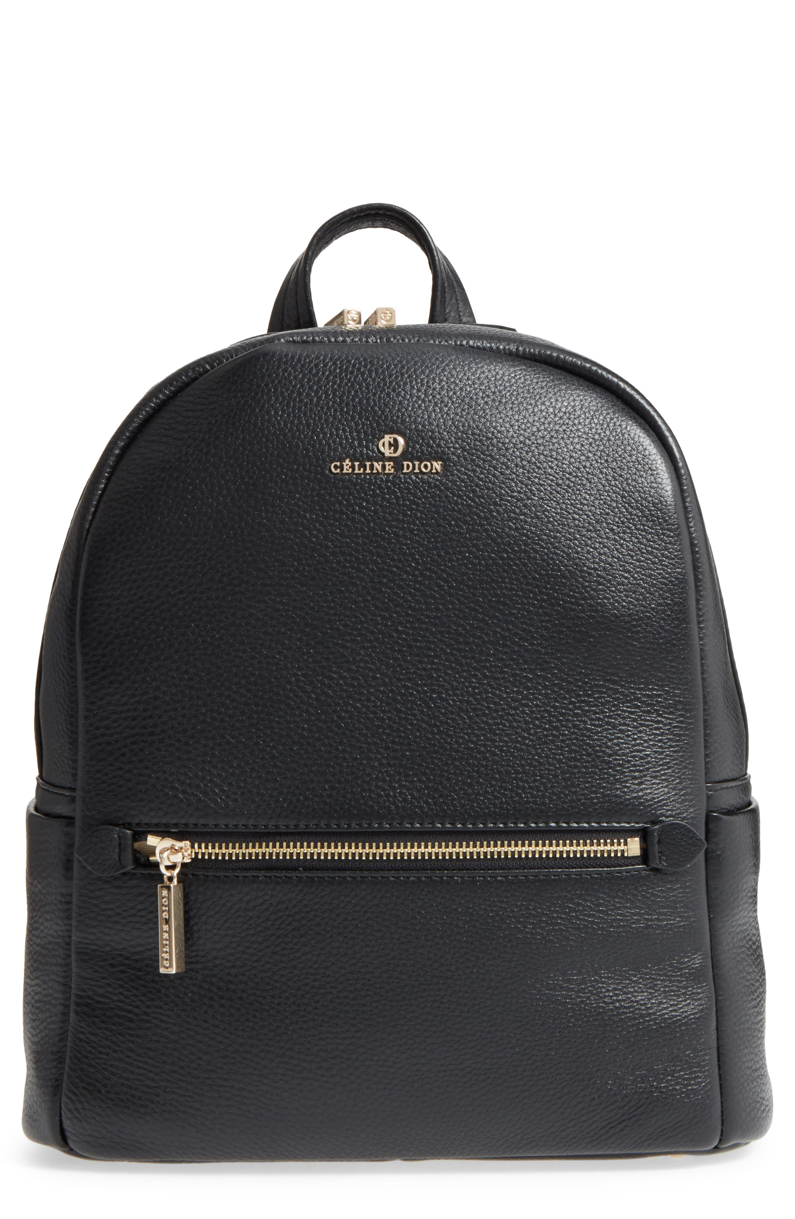 Céline Dion Adagio Leather Backpack