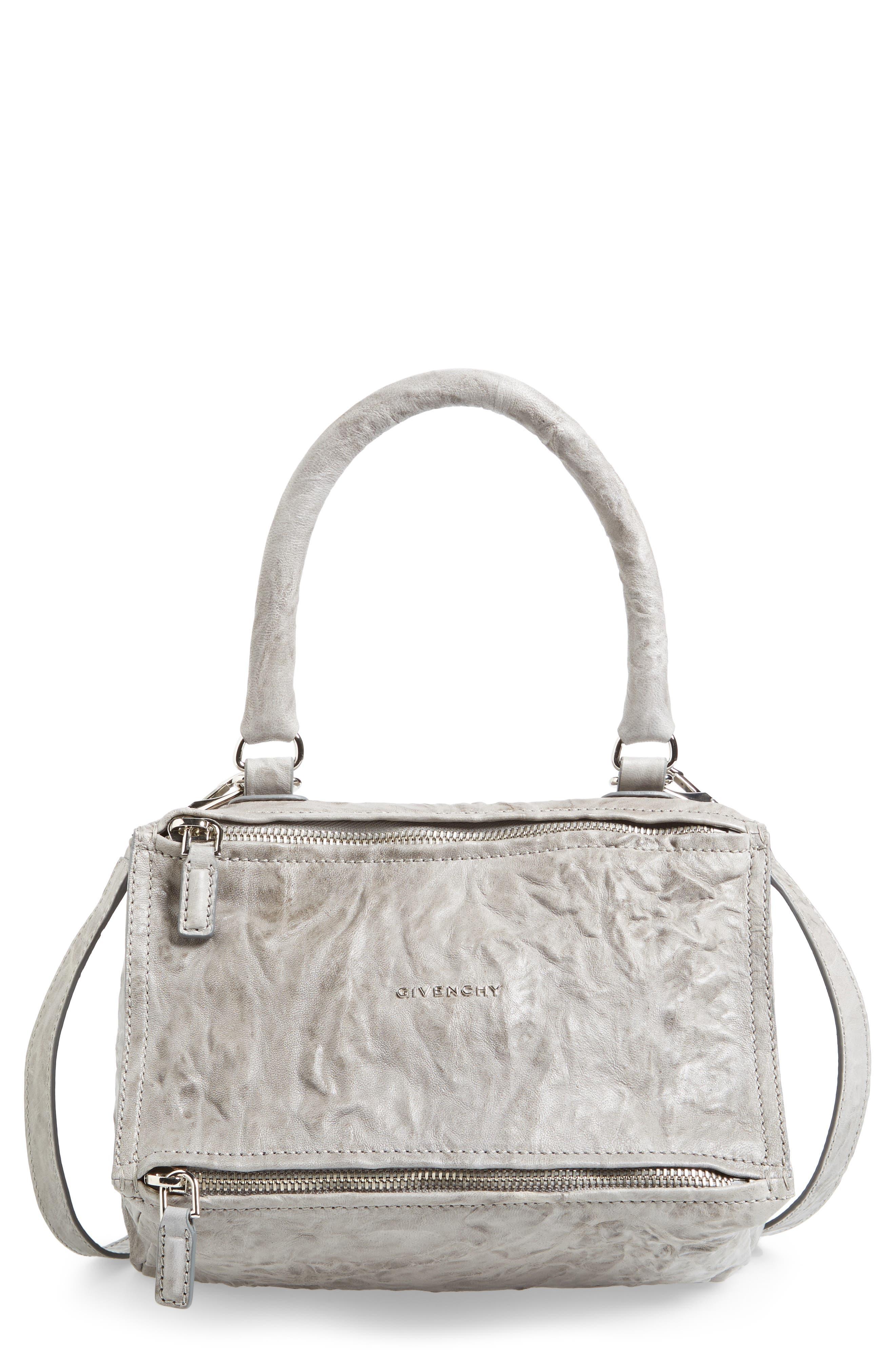 Alternate Image 1 Selected - Givenchy 'Small Pepe Pandora' Leather Shoulder Bag