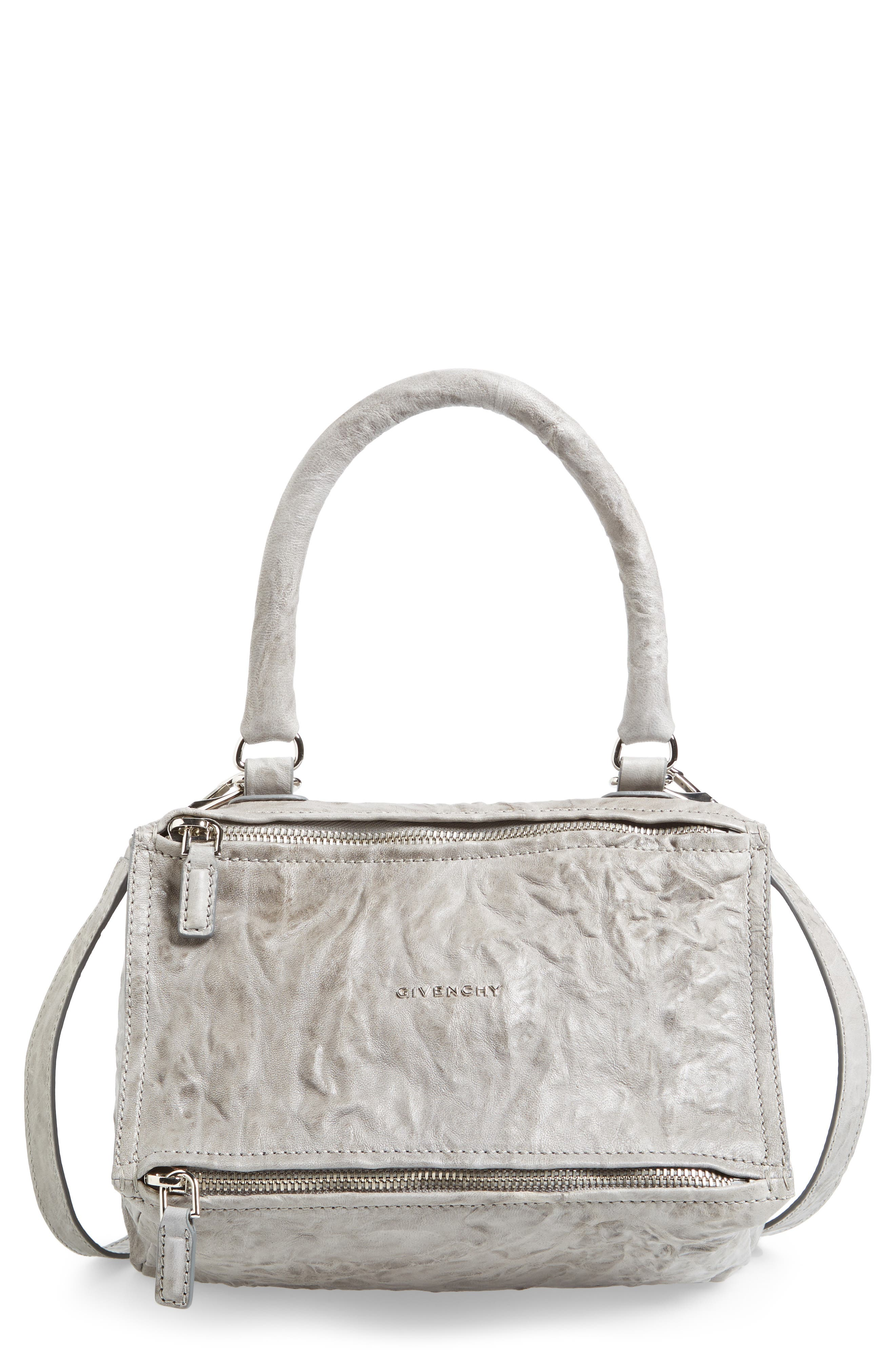 Givenchy 'Small Pepe Pandora' Leather Shoulder Bag