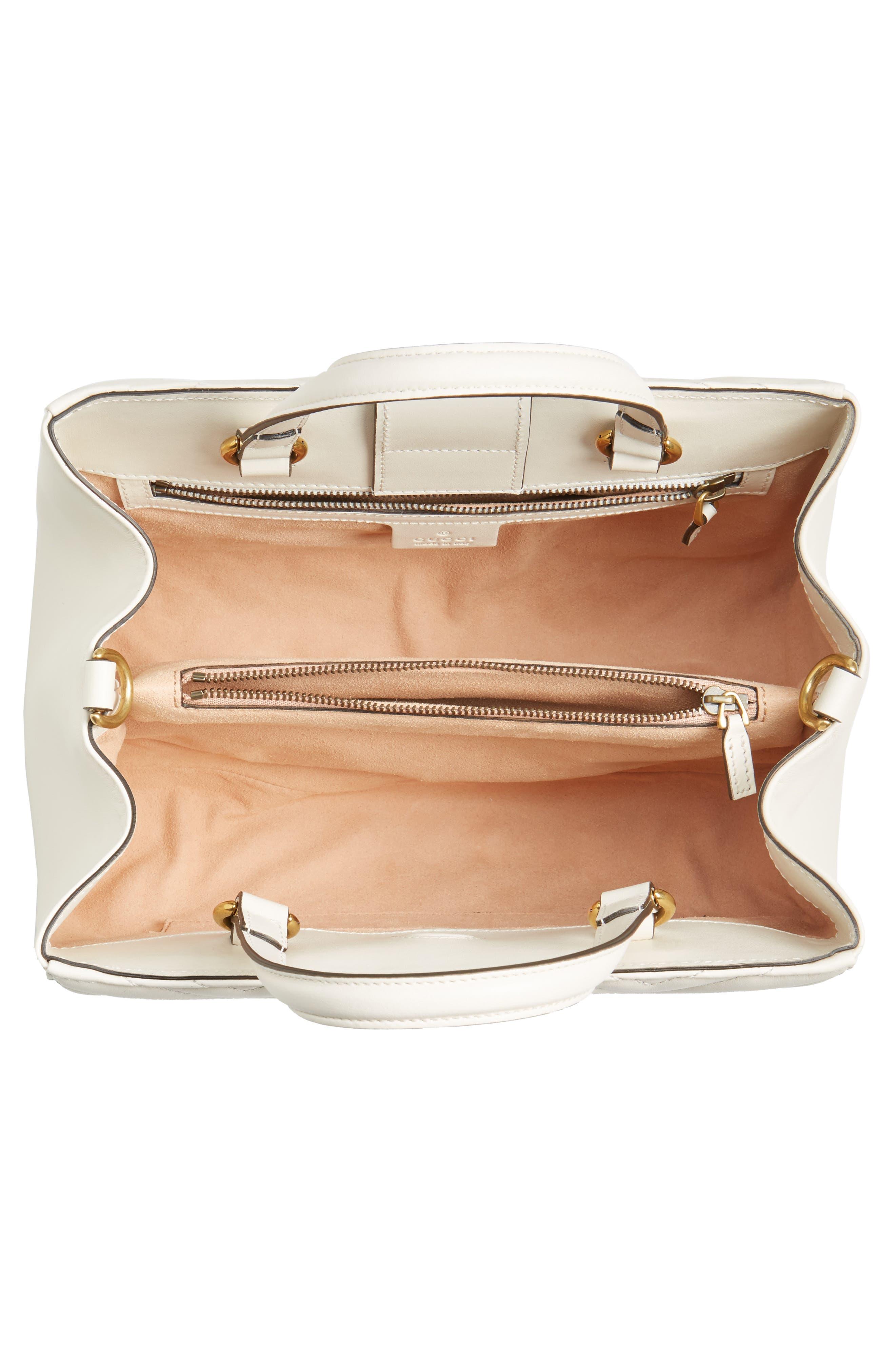 Alternate Image 4  - Gucci GG Small Marmont 2.0 Matelassé Leather Top Handle Satchel