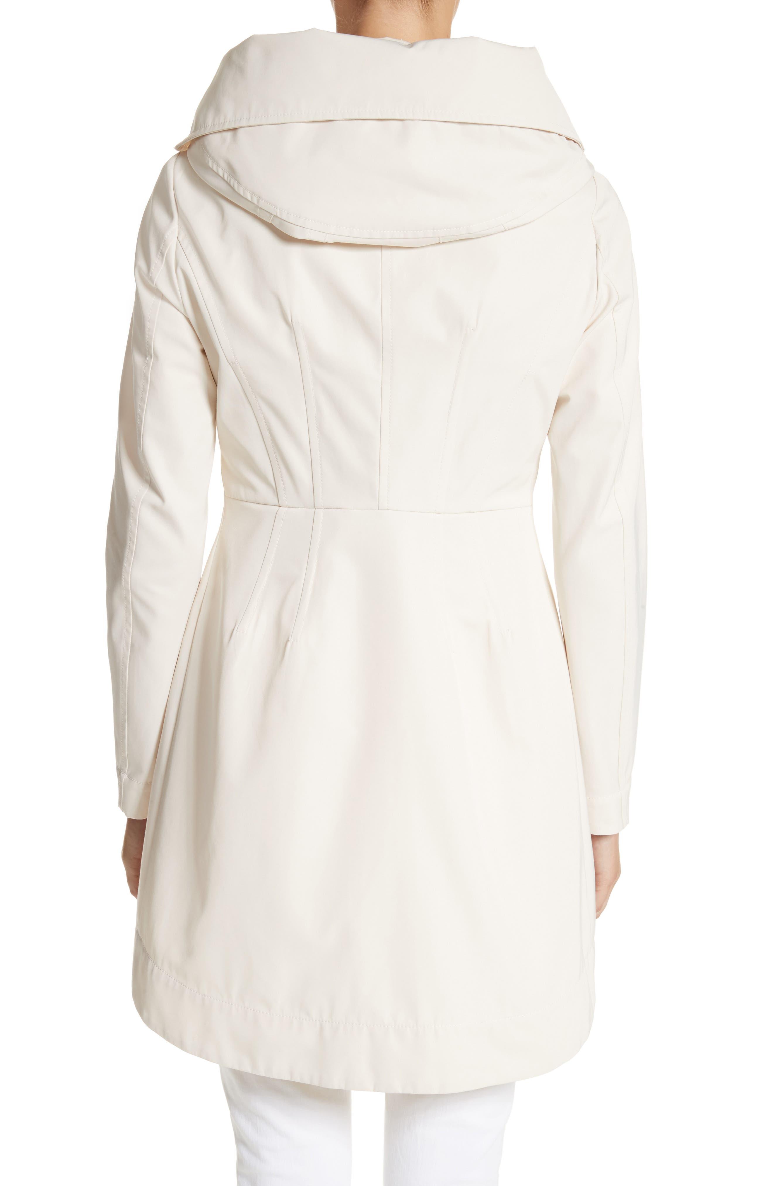 Alternate Image 2  - Moncler Audrey Water Resistant Hooded Raincoat