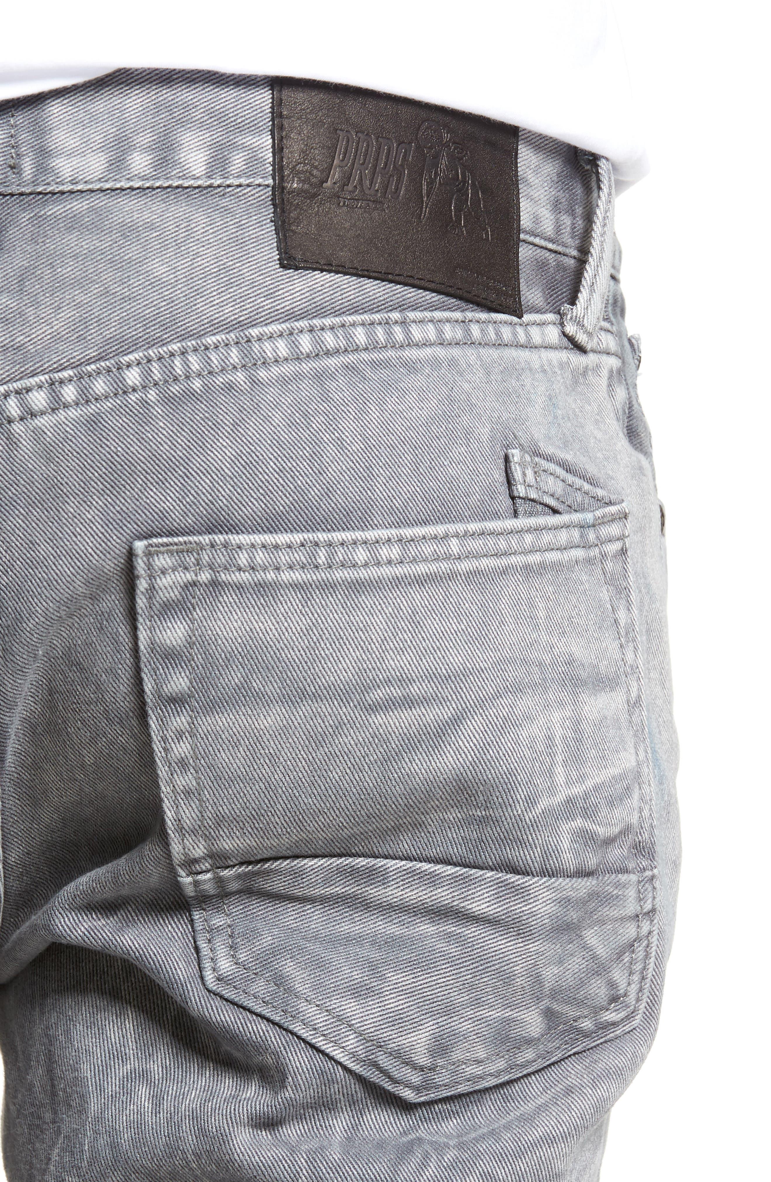 Slim Straight Leg Jeans,                             Alternate thumbnail 4, color,                             Stapes