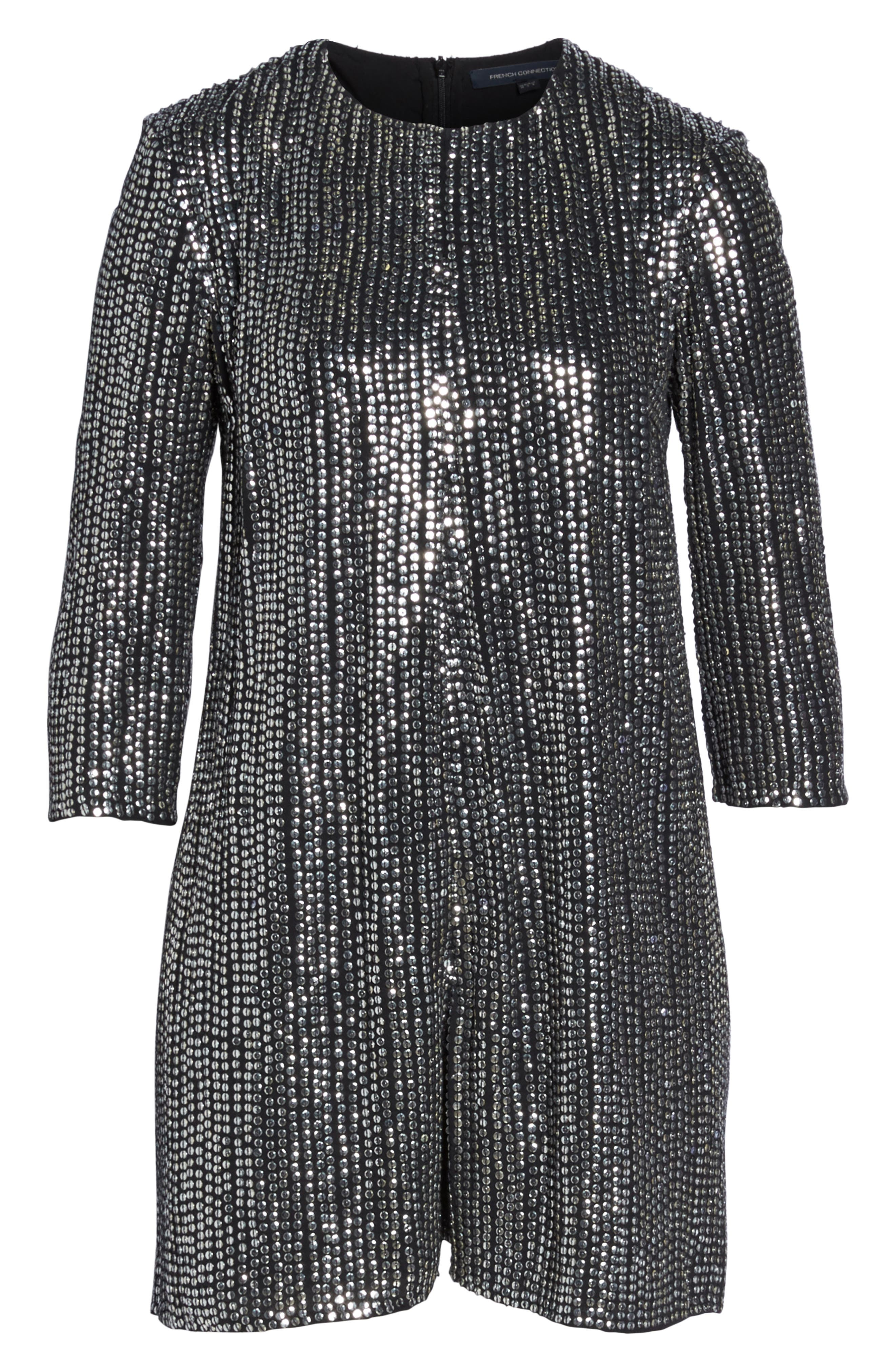 Alternate Image 6  - French Connection Desiree Disco Romper