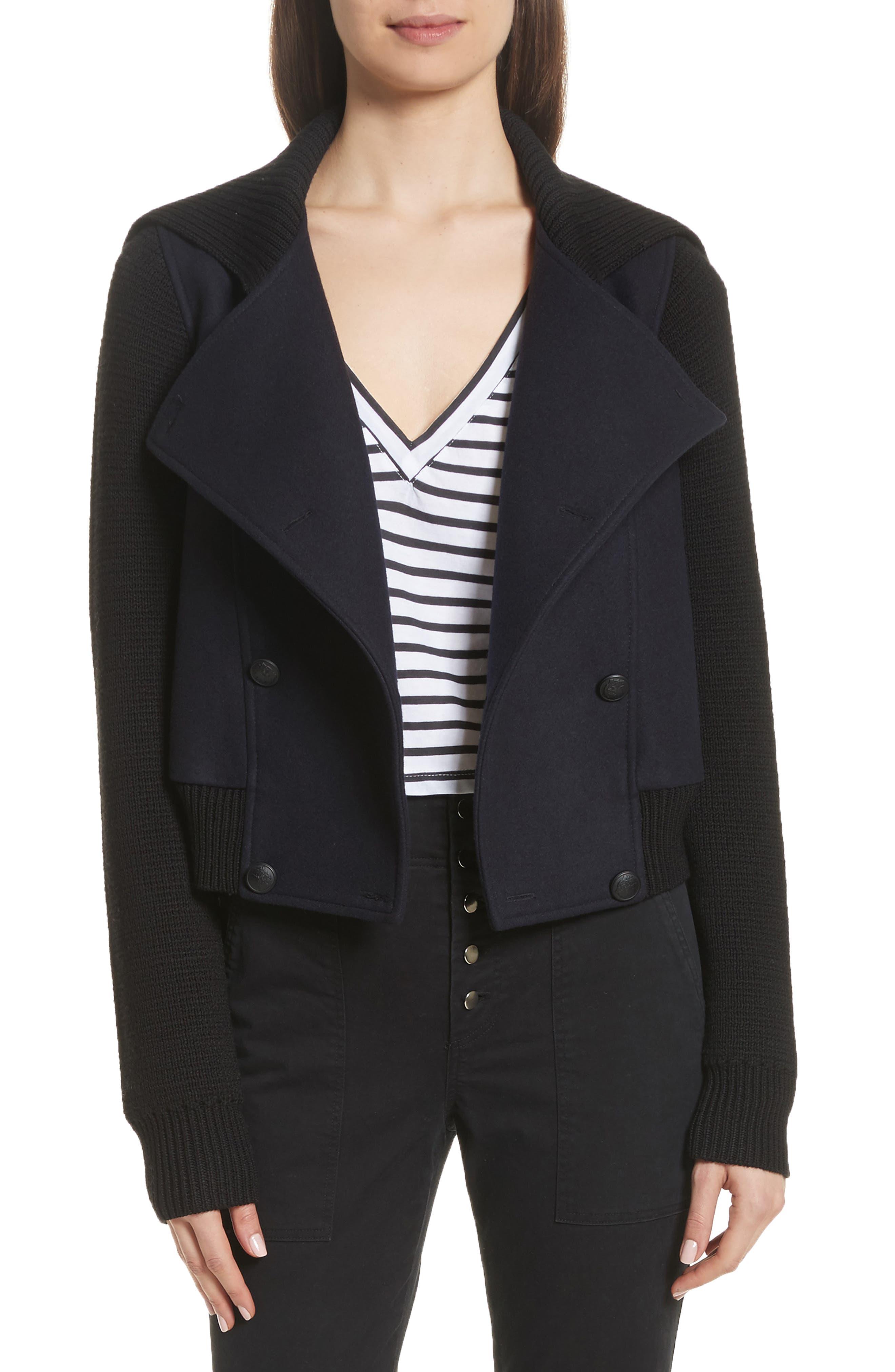 Alternate Image 1 Selected - A.L.C. Bryant Merino Wool Blend Jacket