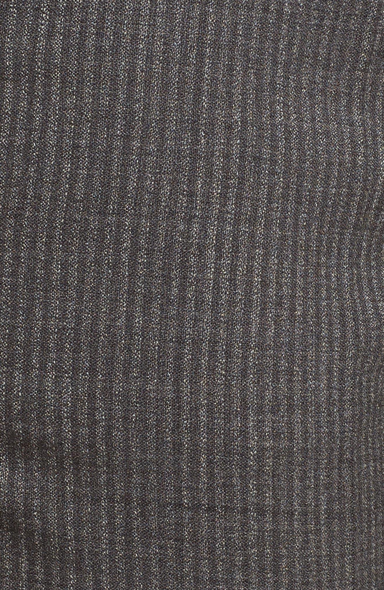 Titana Stretch Wool Trousers,                             Alternate thumbnail 5, color,                             Dark Grey Fantasy