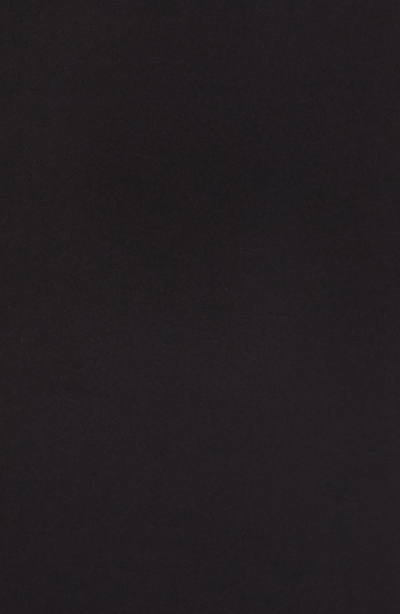 Sequin Embellished Gown,                             Alternate thumbnail 5, color,                             Black