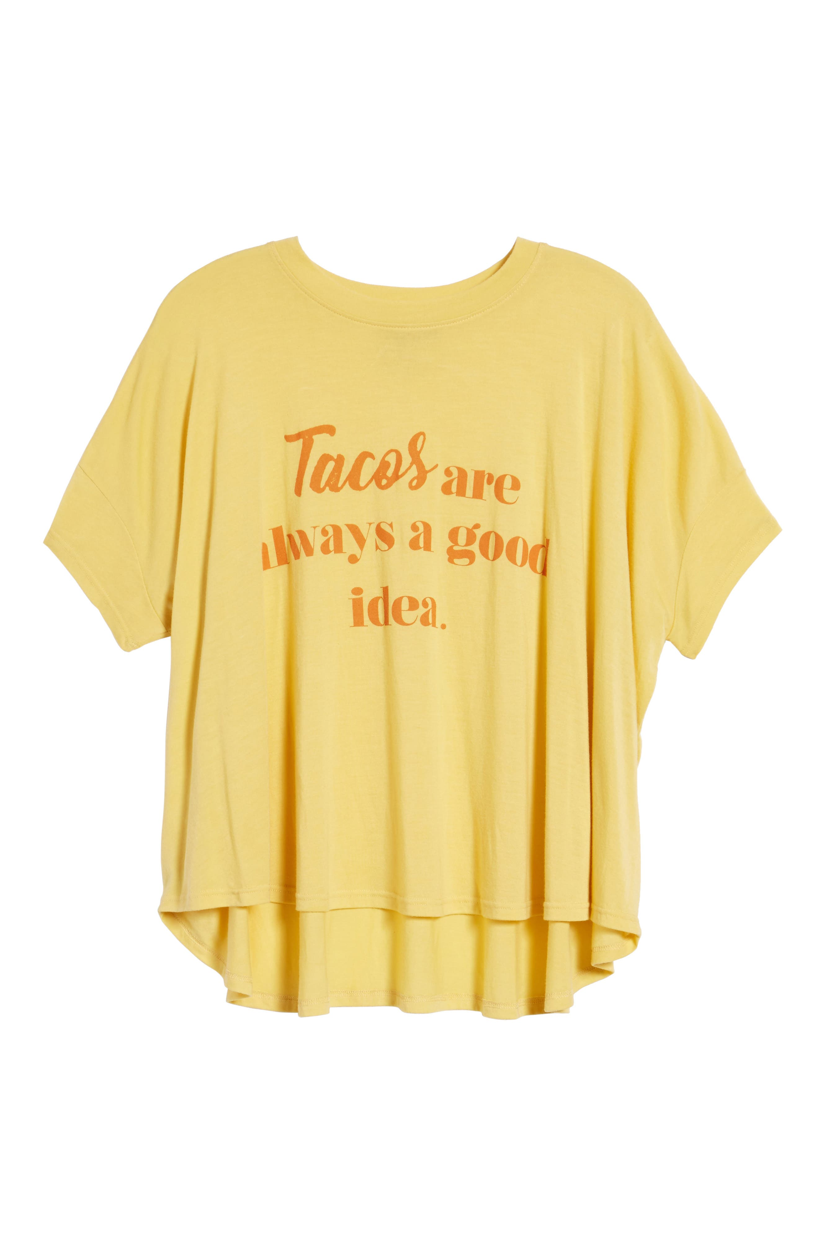 Emerson Tee,                             Alternate thumbnail 6, color,                             Tacos Always