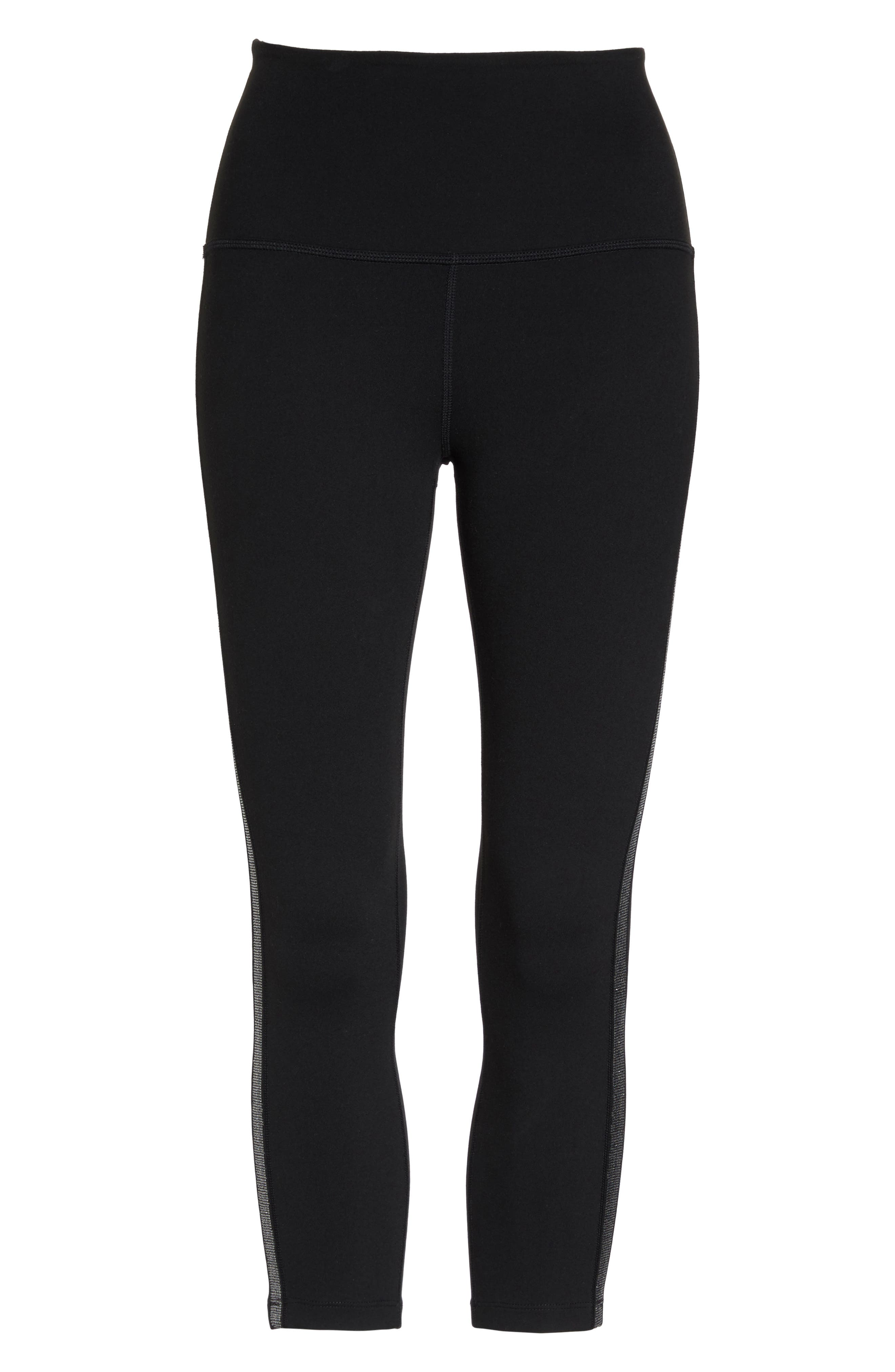 Alternate Image 7  - Beyond Yoga Fit & Trim High Waist Capri Leggings