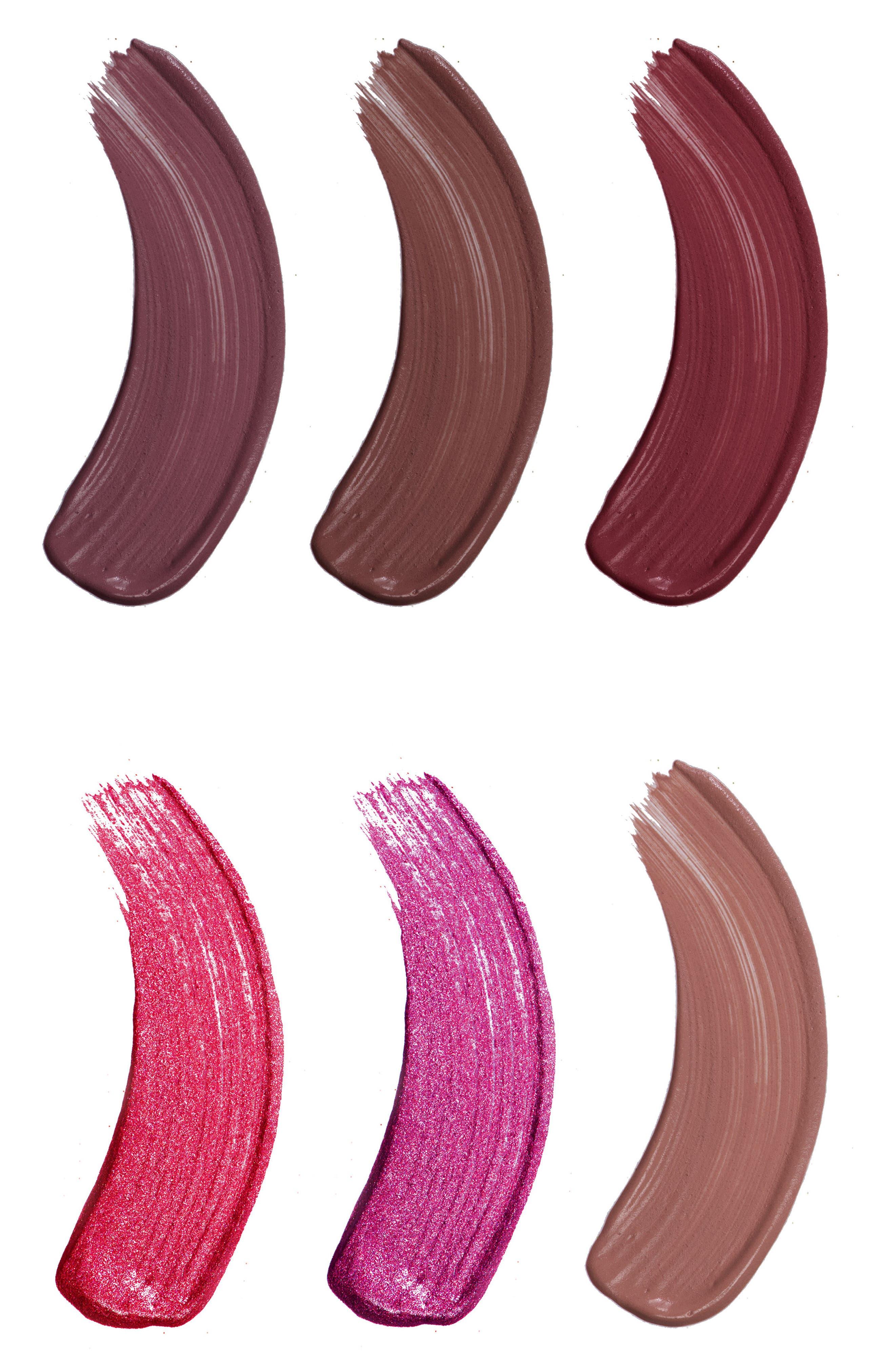 Alternate Image 4  - Jouer Best of Deeps Mini Long-Wear Lip Crème Liquid Lipstick Collection ($32 Value)