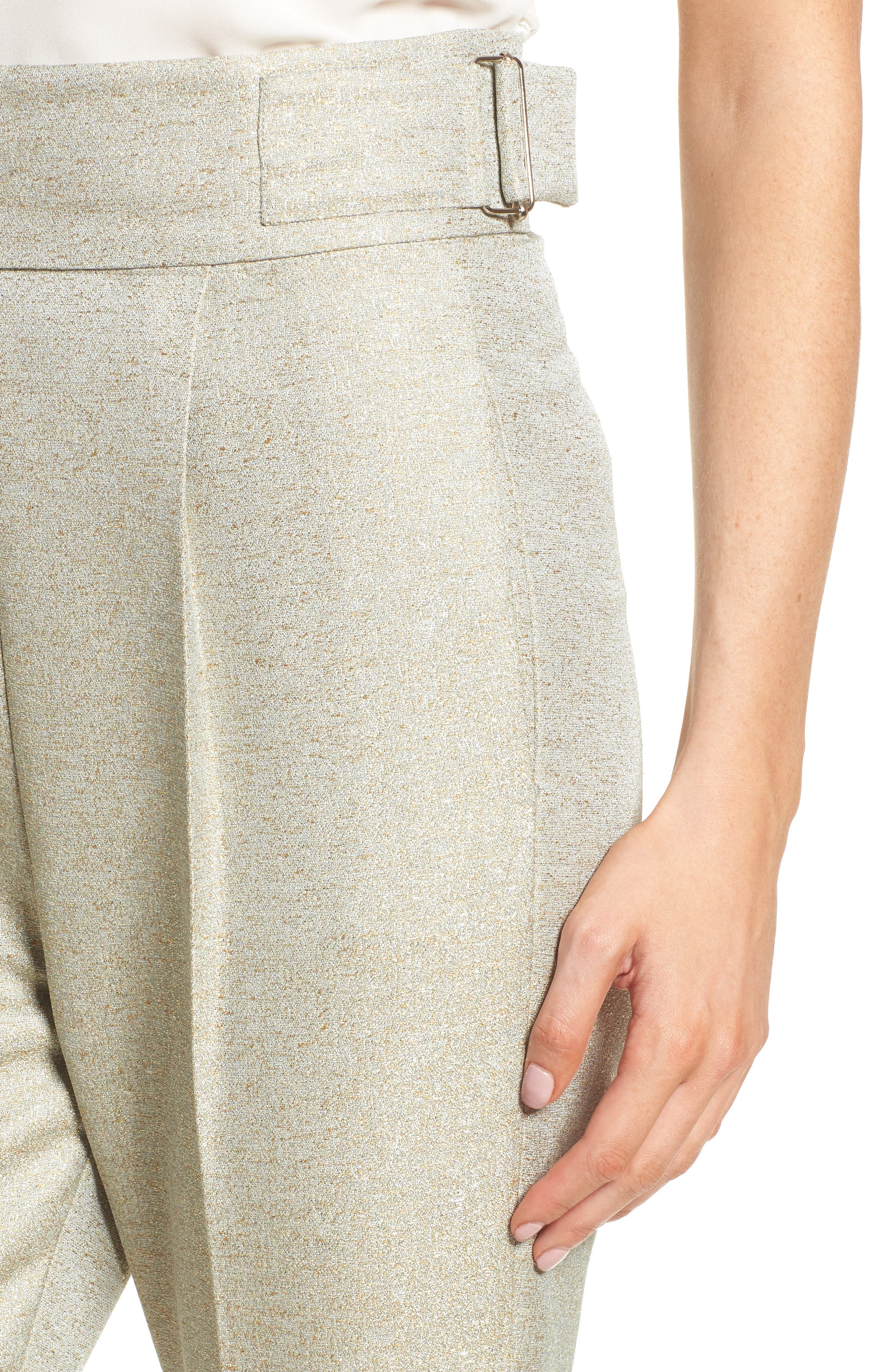 Valencia High Waist Ankle Skinny Pants,                             Alternate thumbnail 5, color,                             Sage