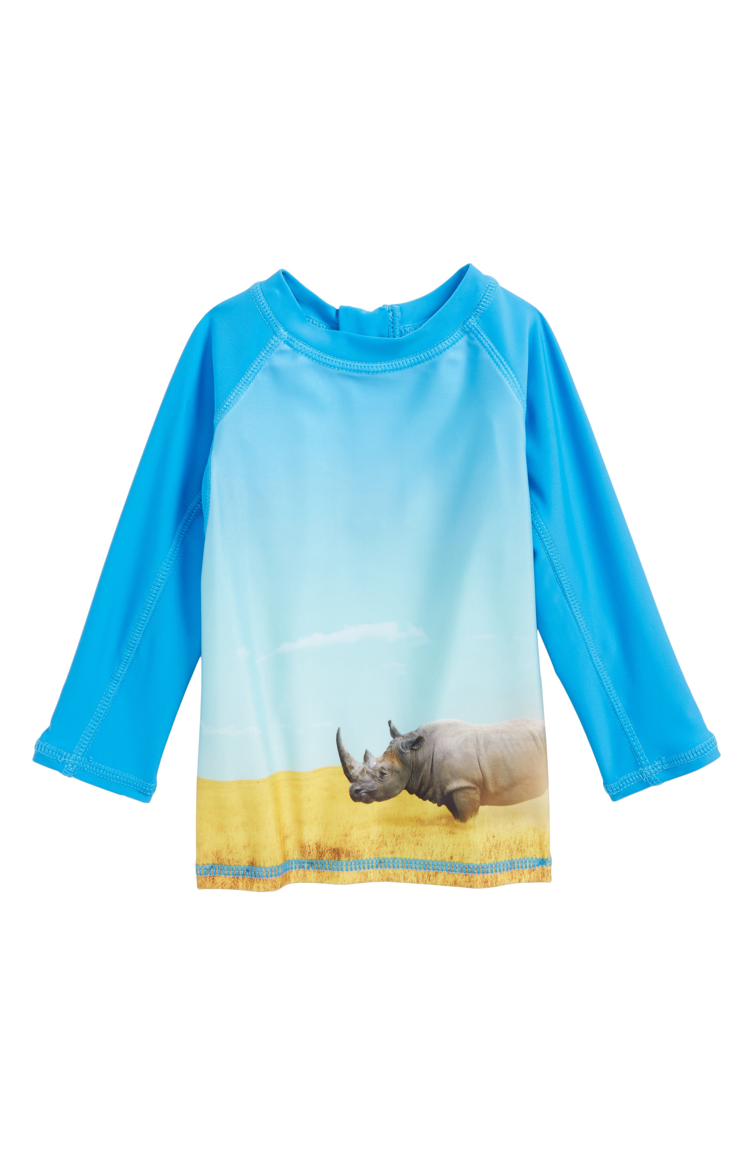 Alternate Image 1 Selected - Molo Nemo Long Sleeve Rashguard Vest (Baby Boys)