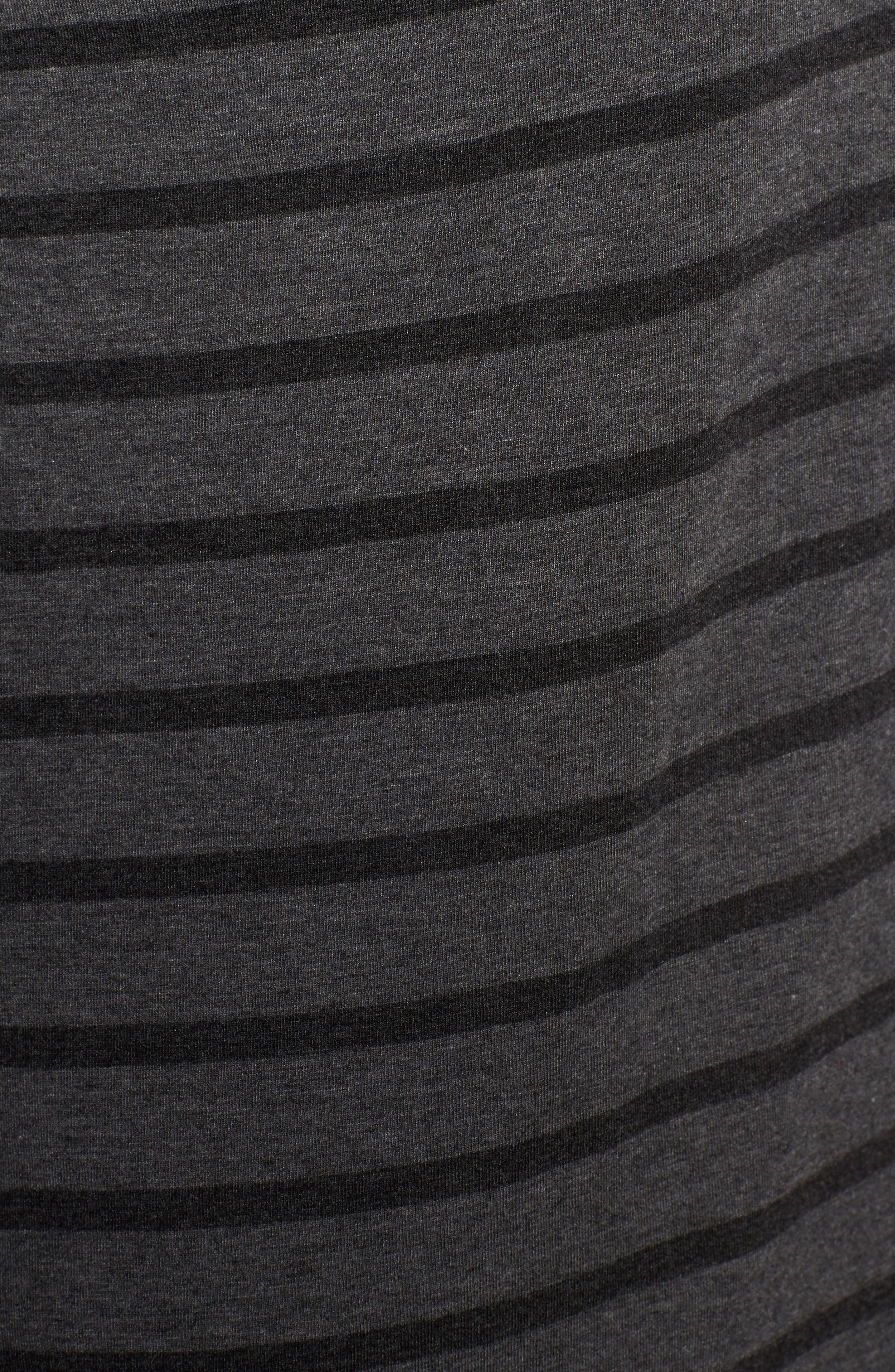 Alternate Image 5  - Eileen Fisher Stripe Stretch Tencel® Tunic