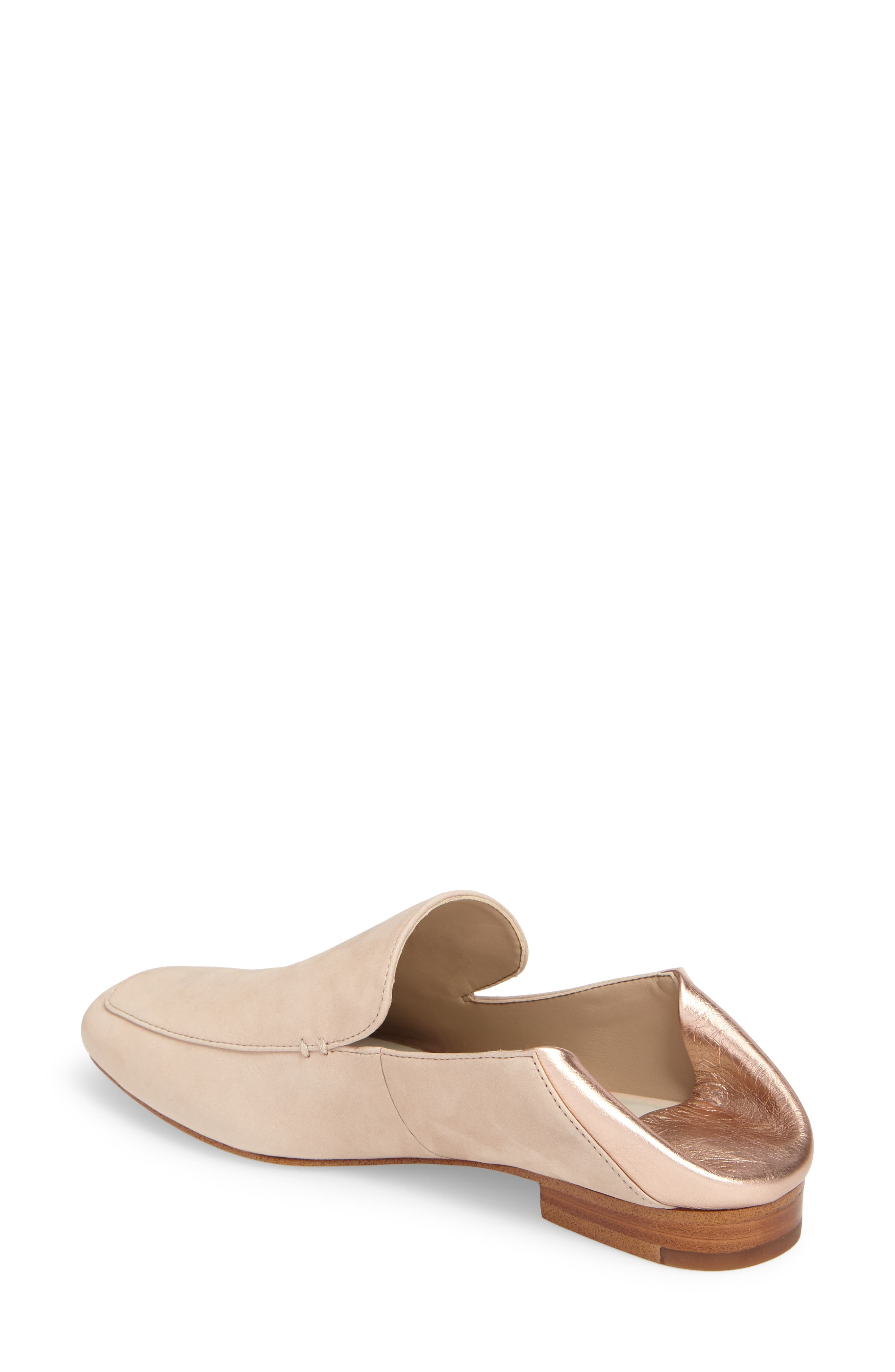 Faun Drop Heel Loafer,                             Alternate thumbnail 2, color,                             Cipria Leather