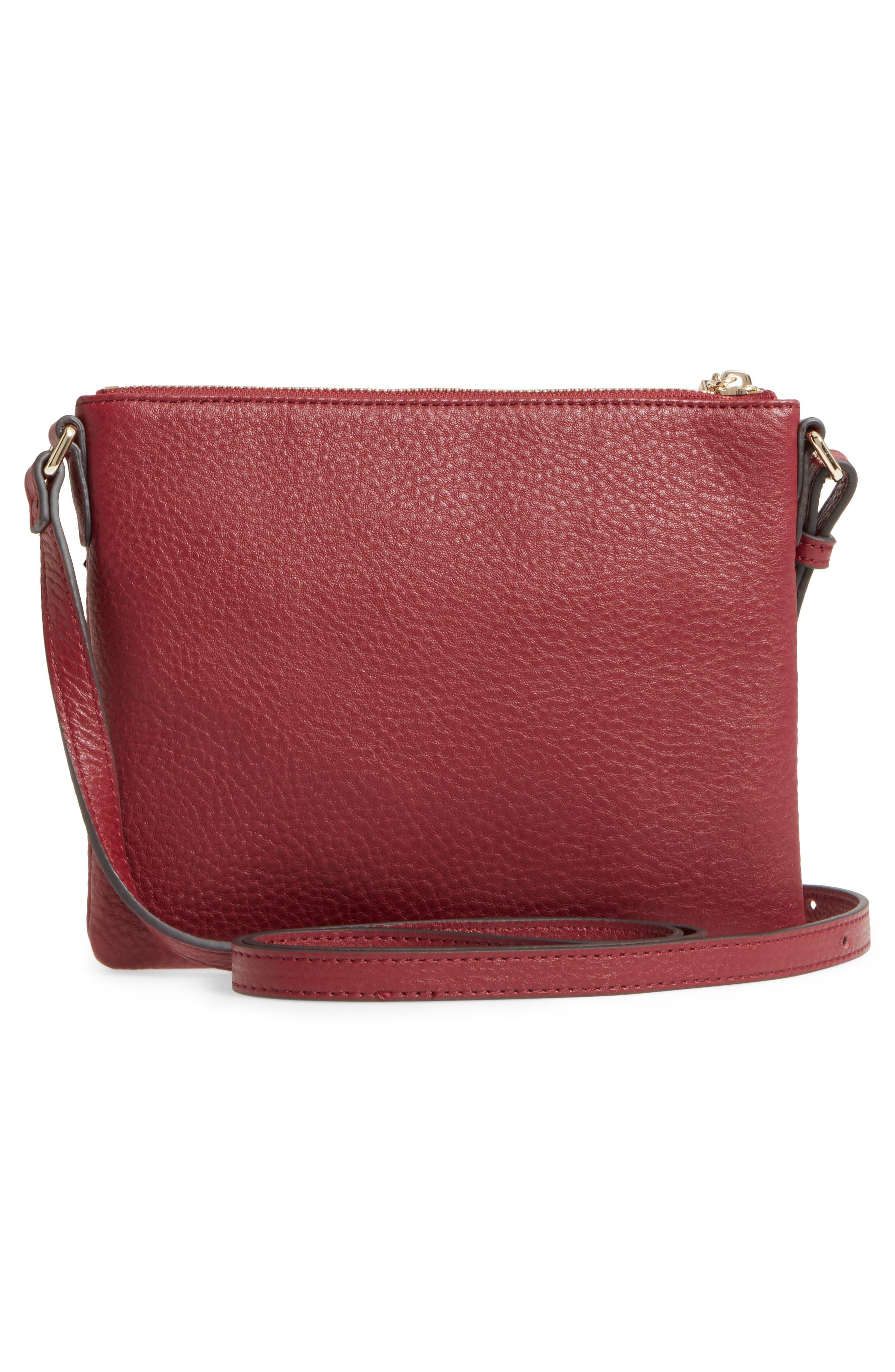 Alternate Image 3  - Céline Dion Adagio Leather Crossbody Bag