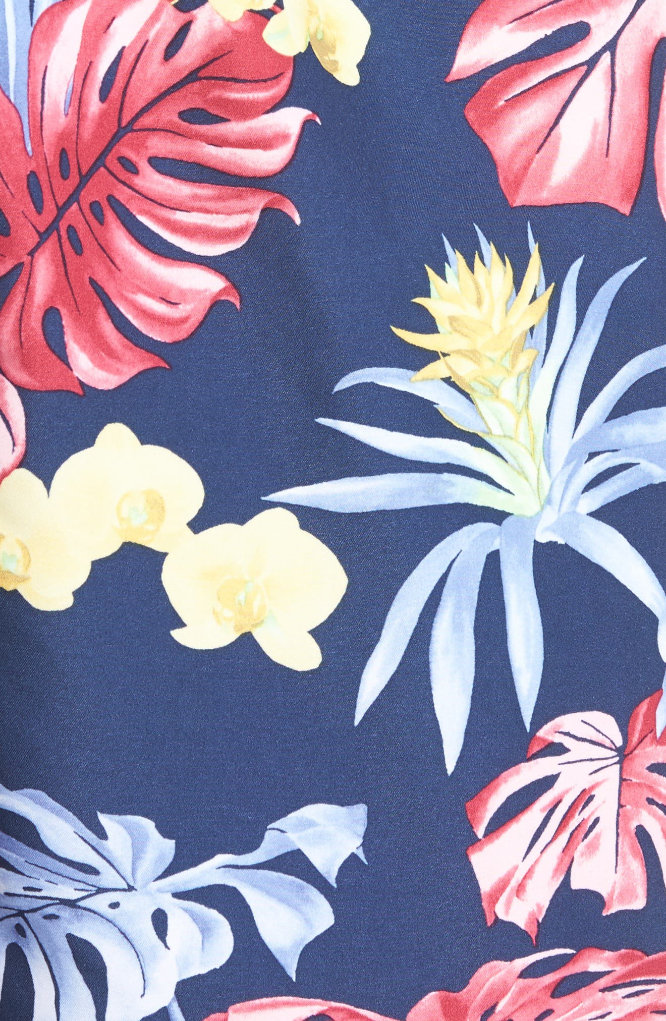 Naples Bogart Blooms Swim Trunks,                             Alternate thumbnail 5, color,                             Ocean Deep