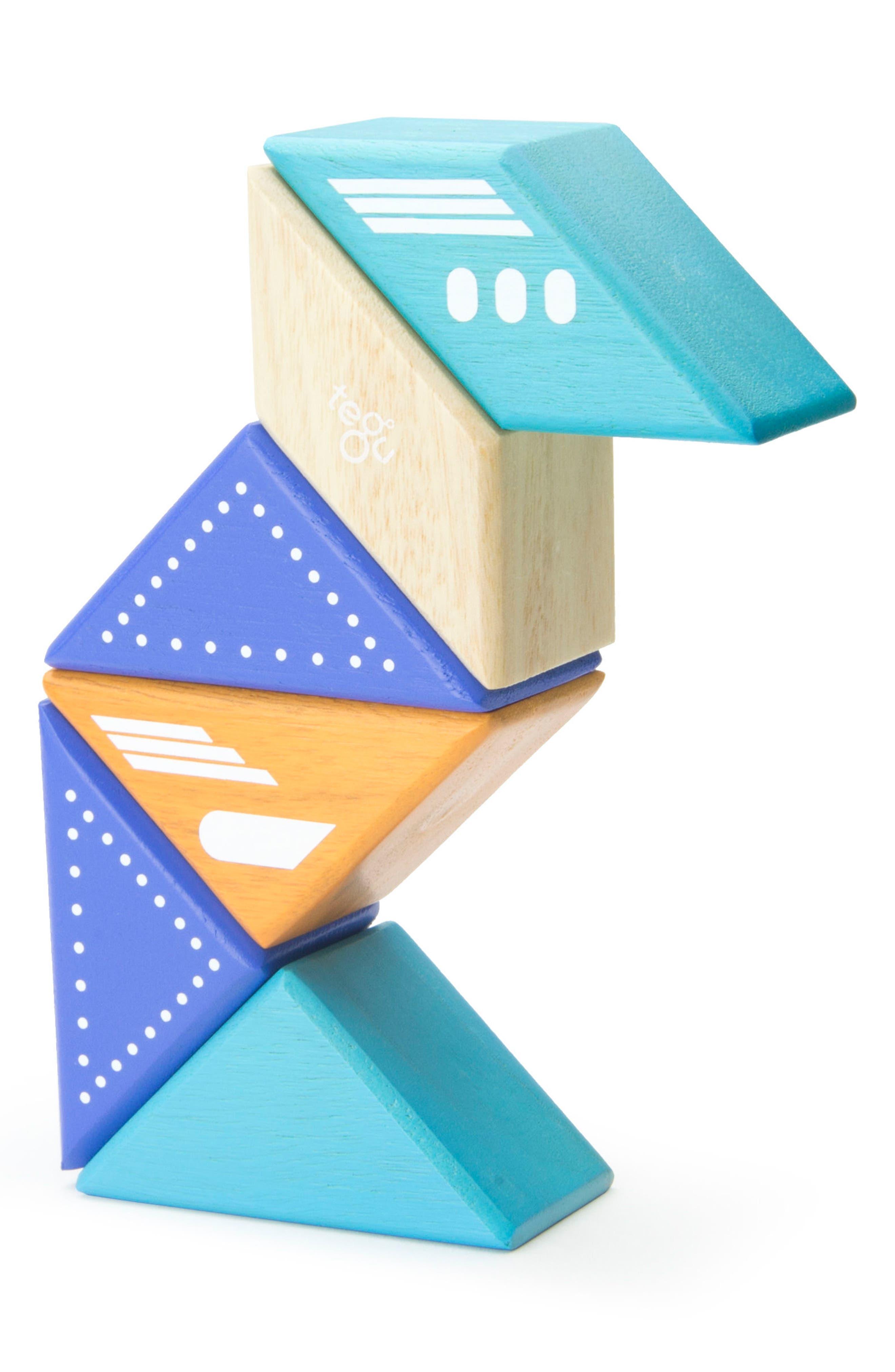 Travel Pals 6-Piece Jet Magnetic Block Set,                             Alternate thumbnail 7, color,                             Blue