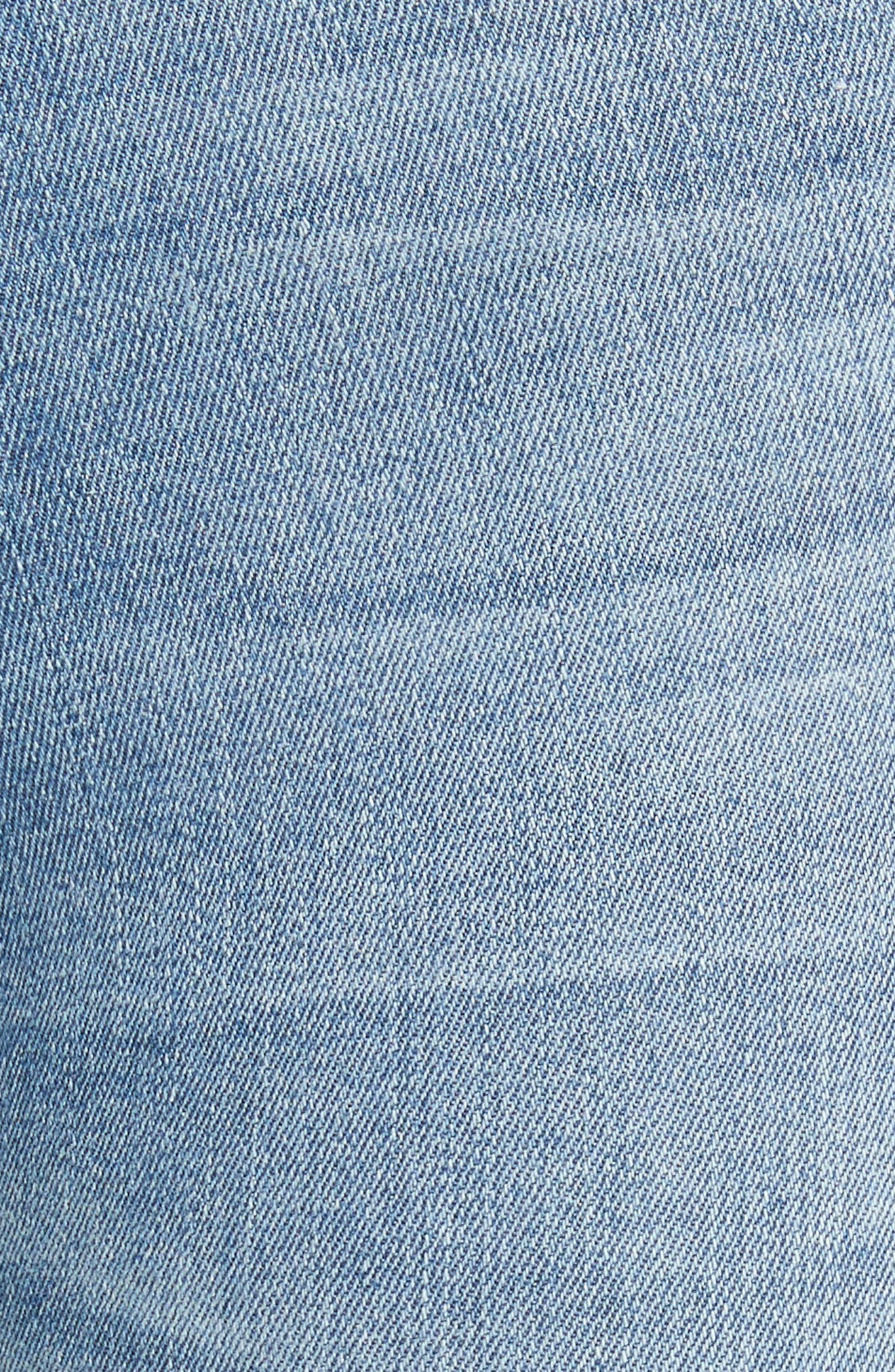 Le High Crop Skinny Jeans,                             Alternate thumbnail 5, color,                             Loehr