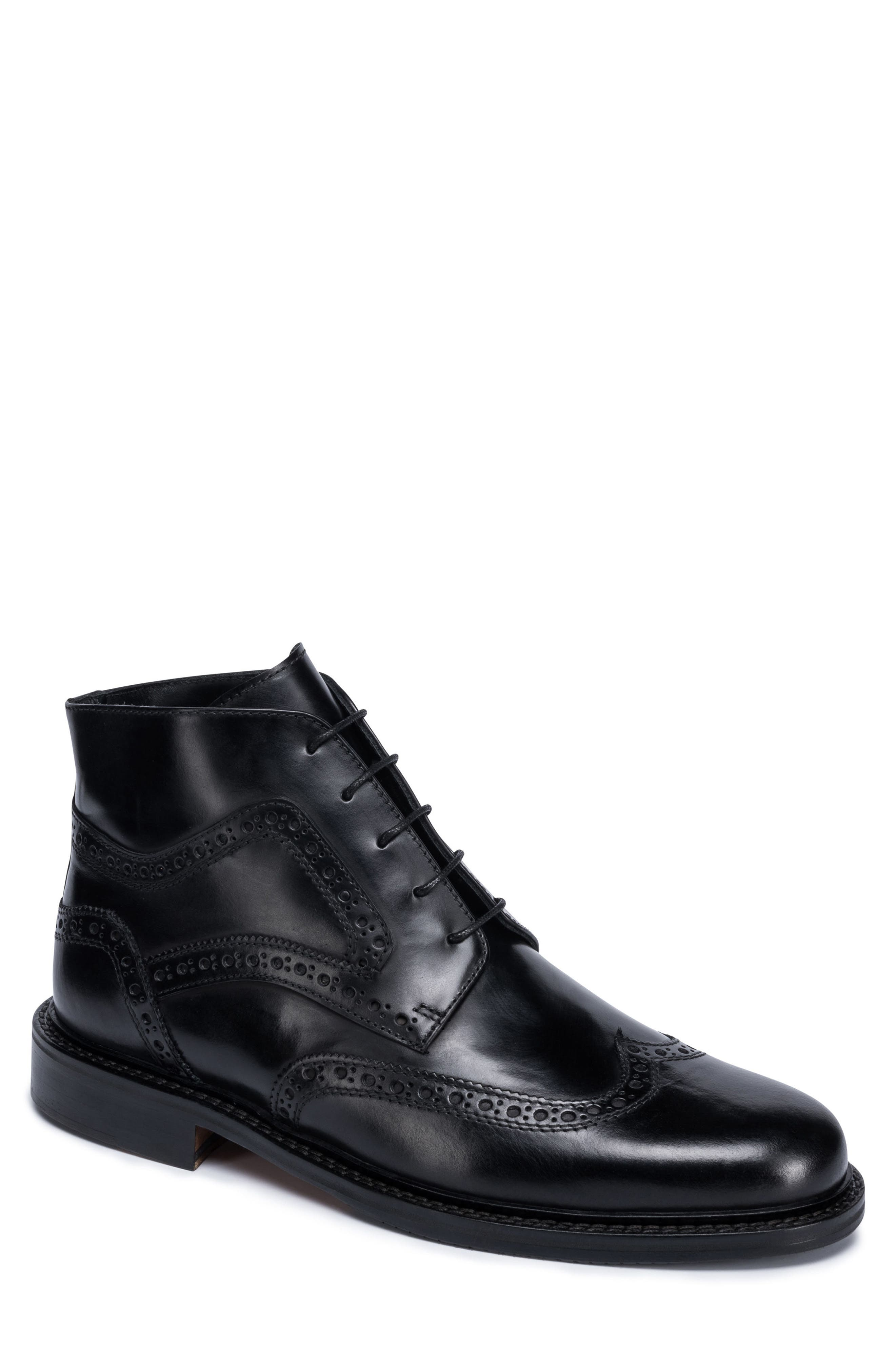 Bugatchi Toscano Wingtip Boot (Men)