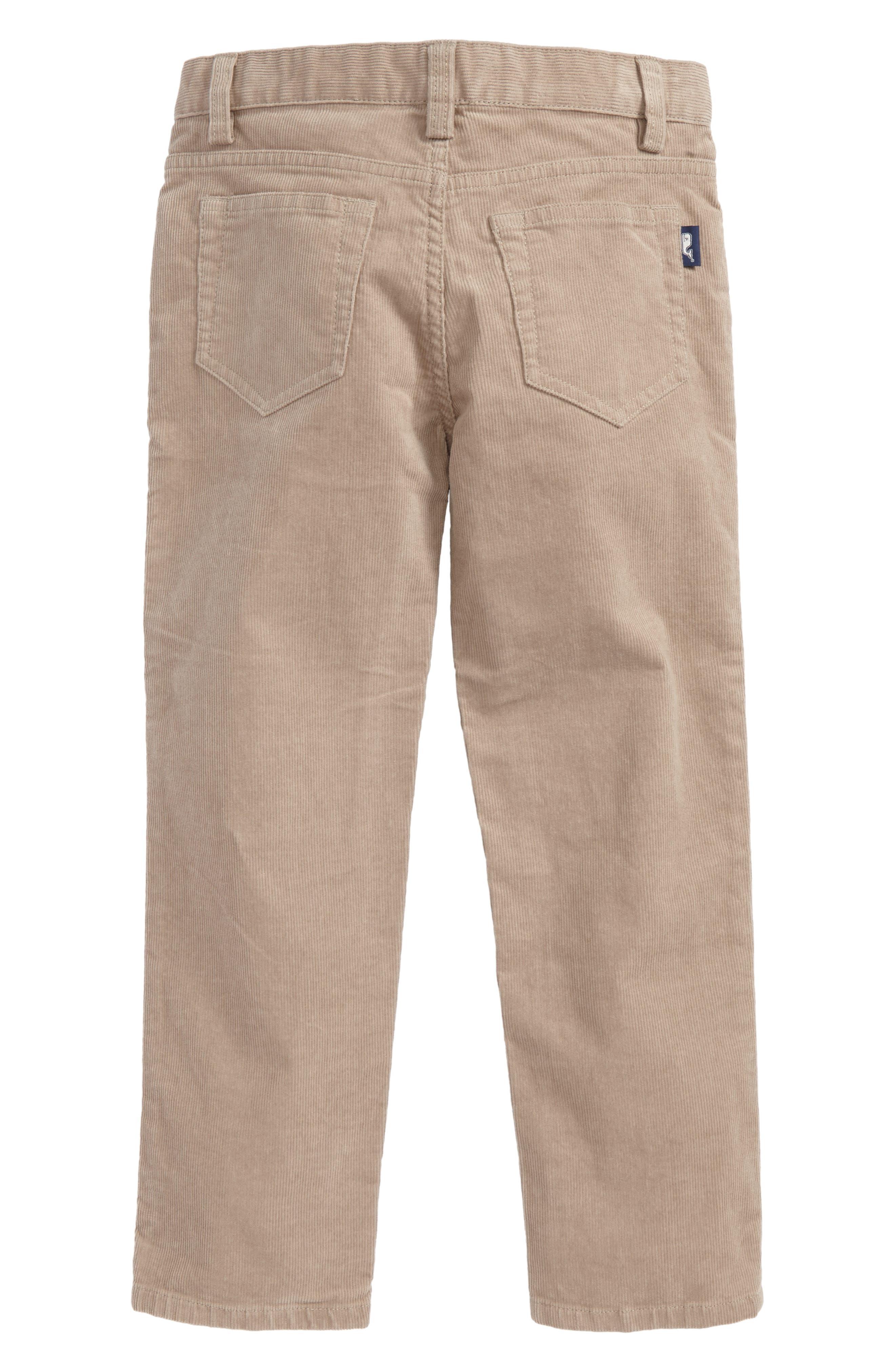 Corduroy Pants,                             Alternate thumbnail 2, color,                             Khaki