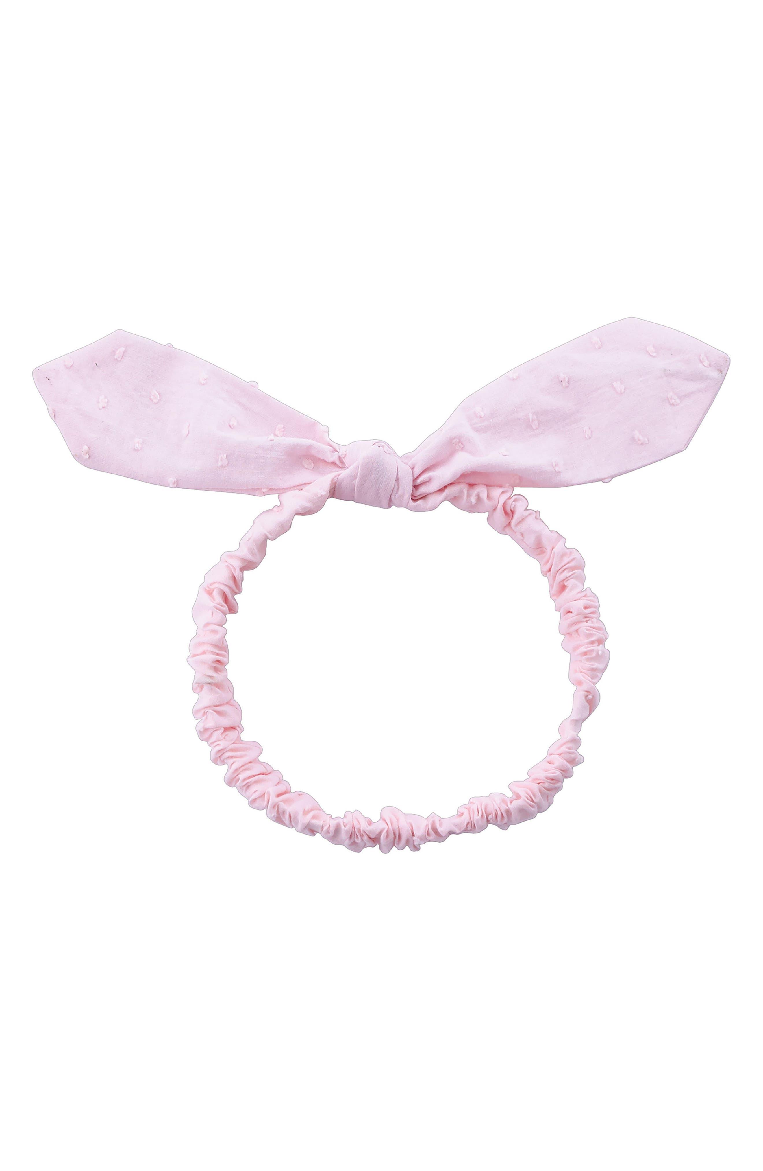 Bunny Ears Headband,                         Main,                         color, Pink