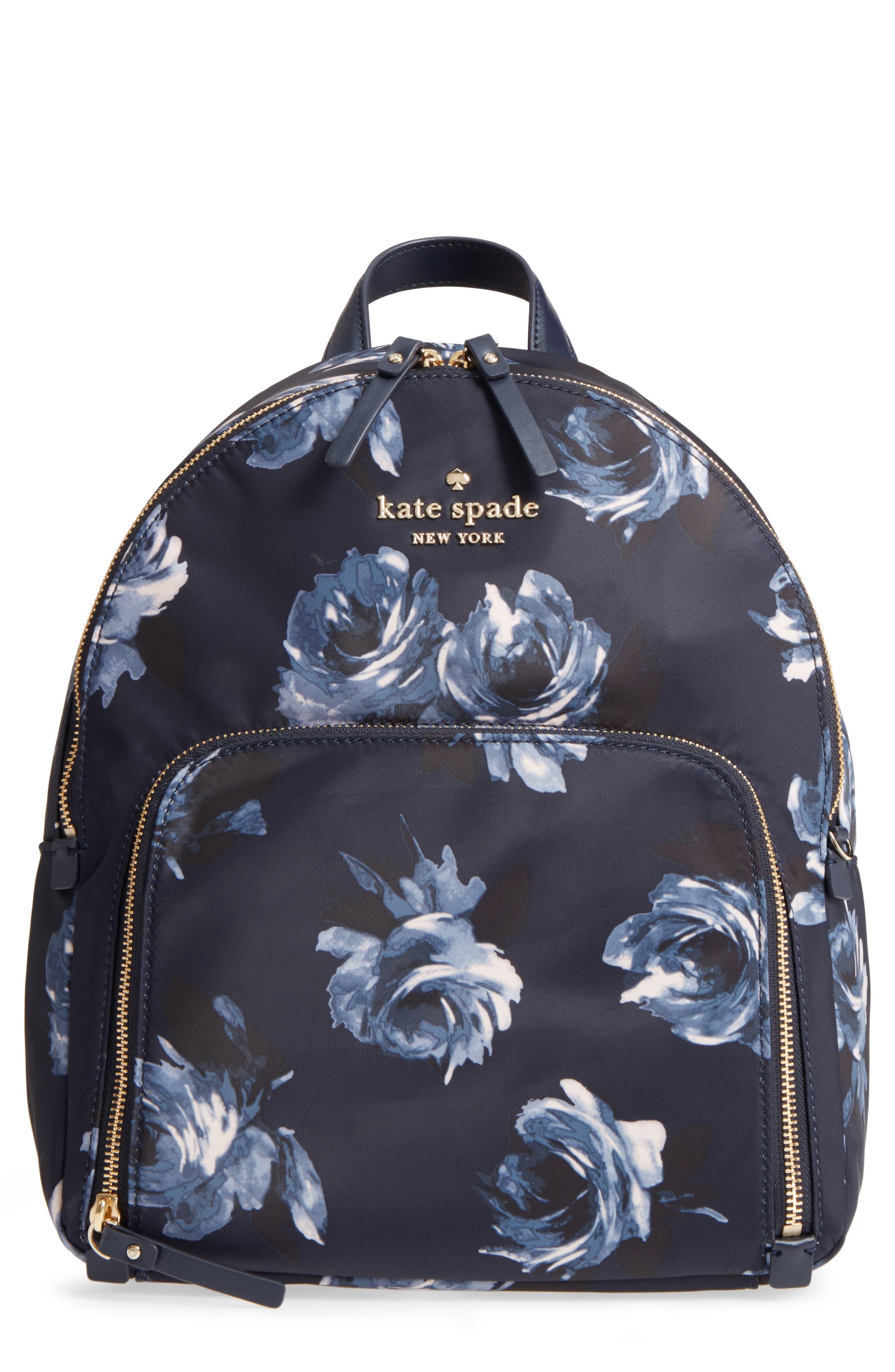 watson lane night rose hartley nylon backpack,                             Main thumbnail 1, color,                             Night Rose