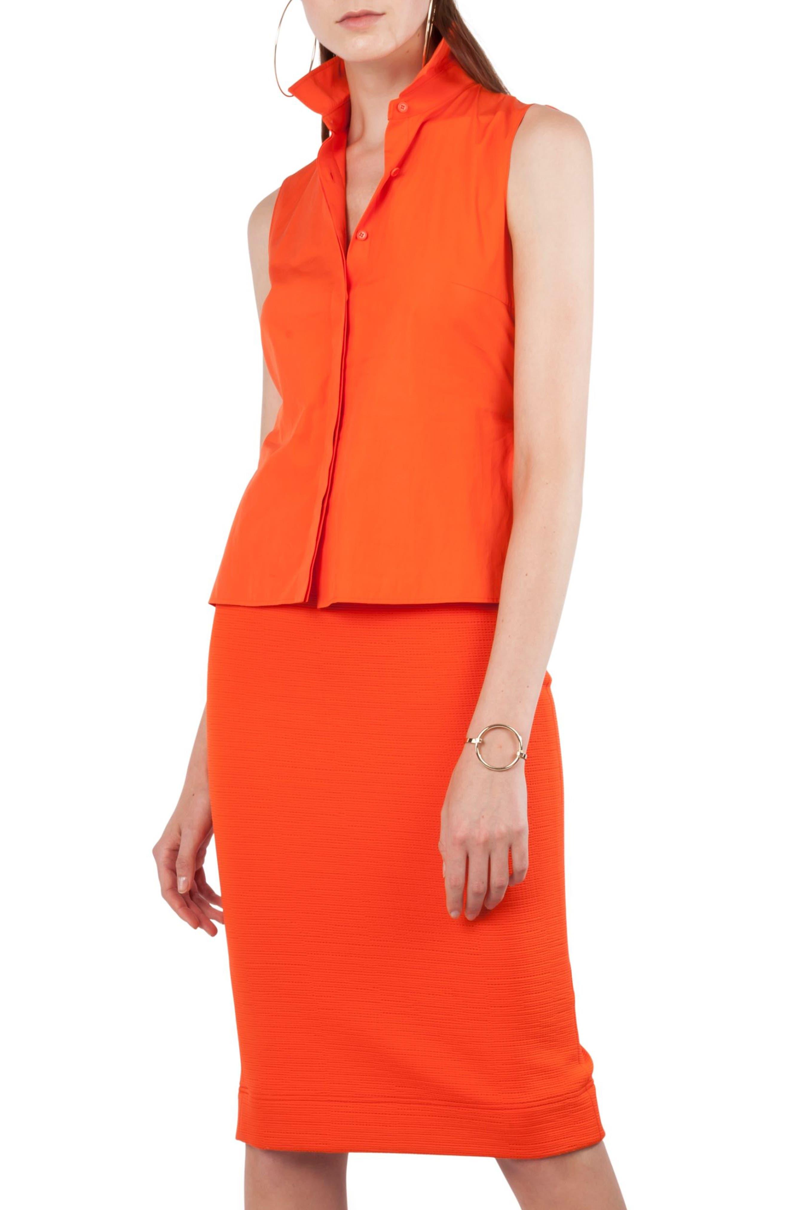 Kleid Layered Dress,                             Main thumbnail 1, color,                             Papaya